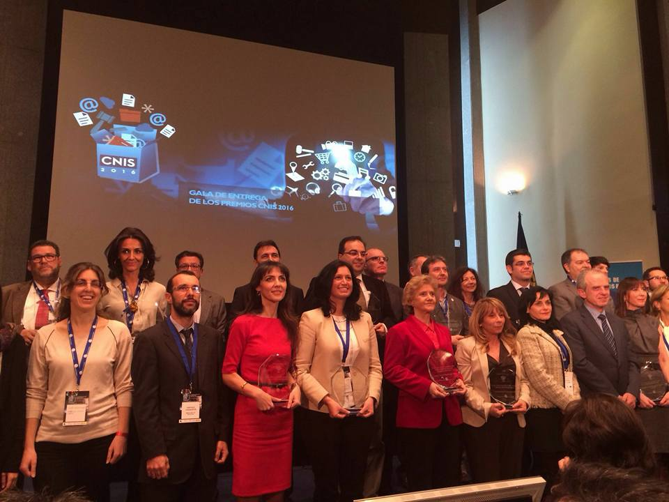 El SERVEF rep el Premi CNIS 2016 a la millor Gestió de Xarxes Socials