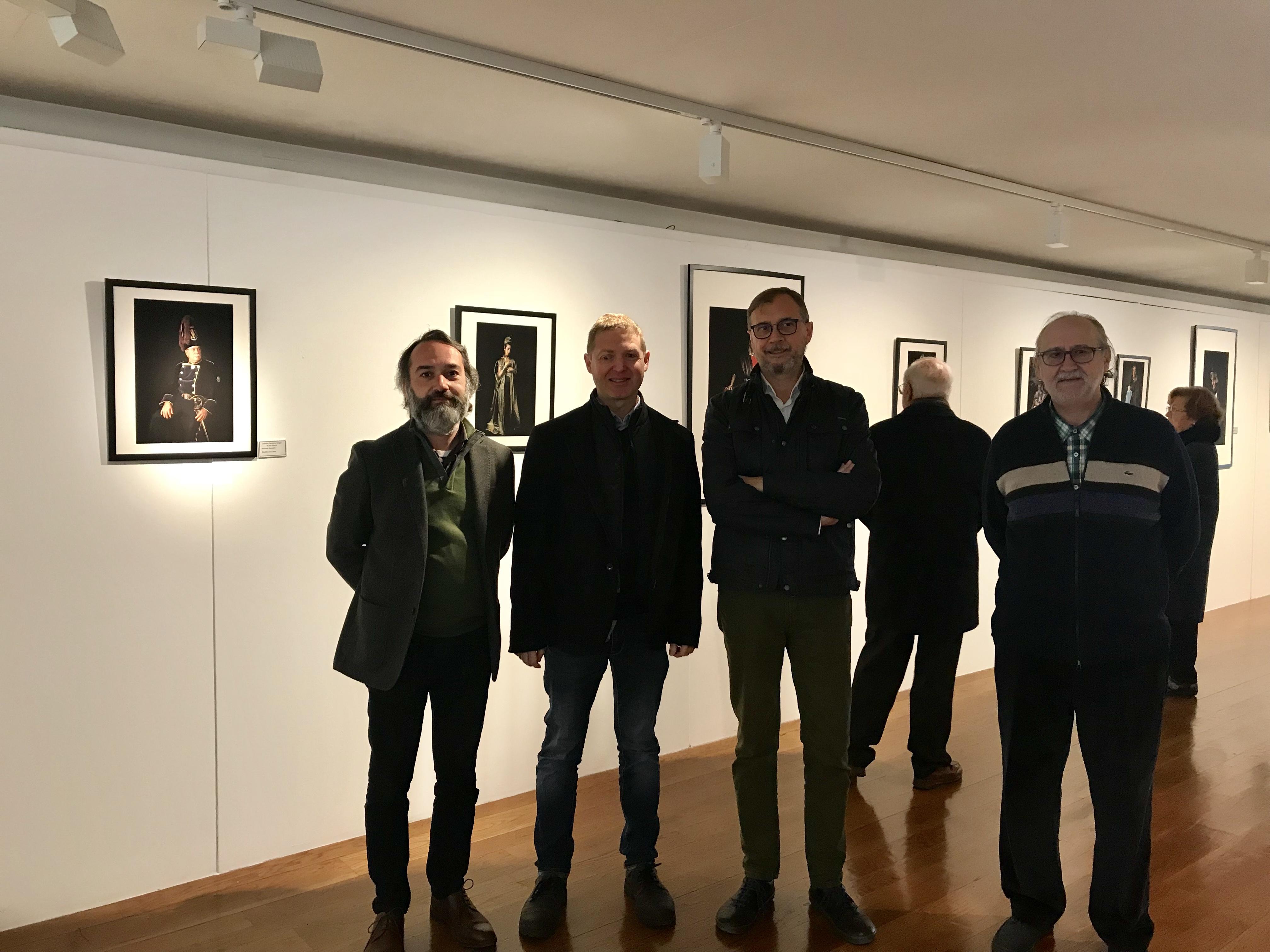 """El Institut Valencià de Cultura inaugura la exposición fotográfica """"Colección Semana Santa Arte"""" en el Museo de Bellas Artes de Castellón"""