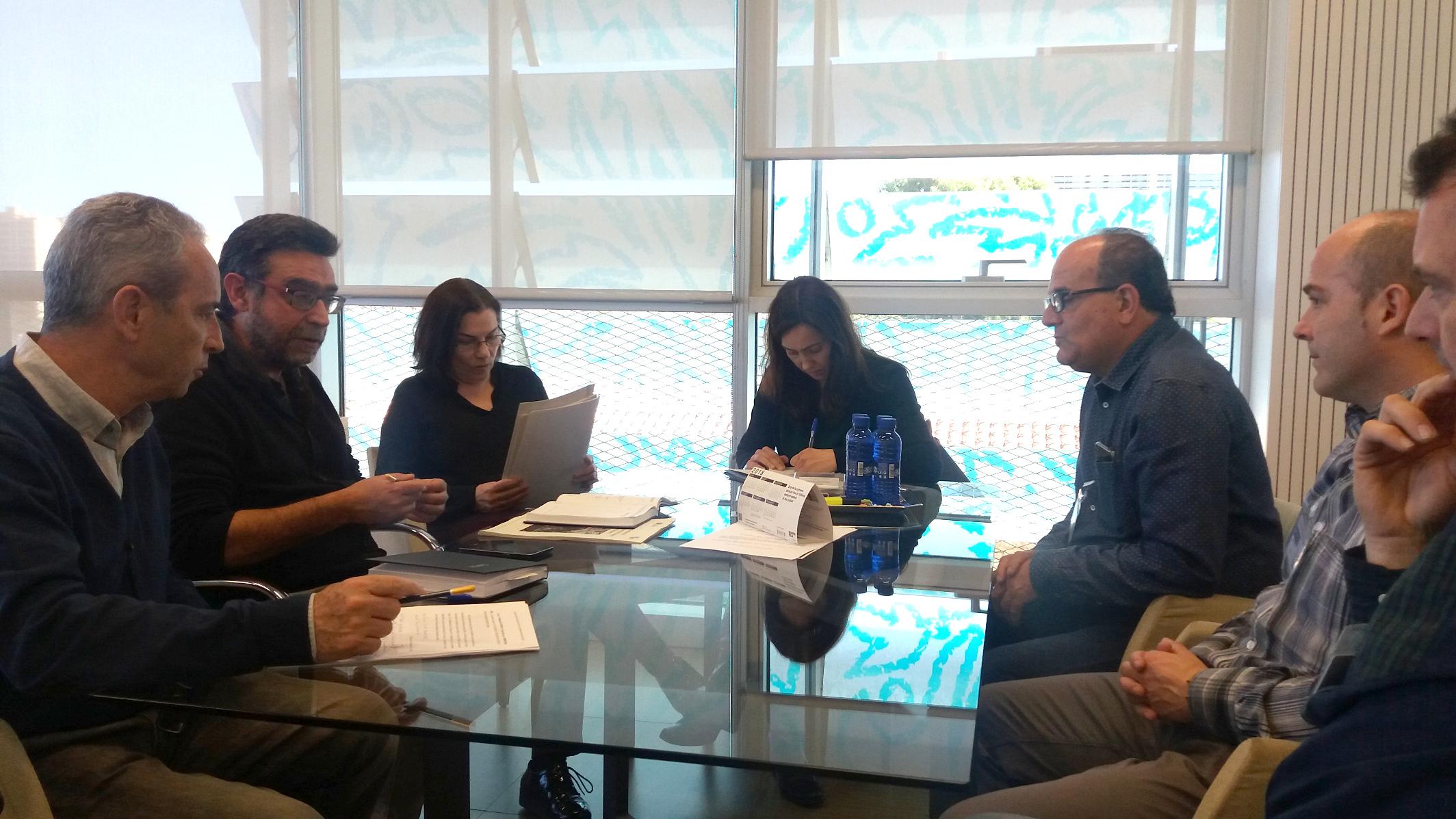 """El Consell impulsa una solució al risc d""""afonament del Barranc de Caraïta sobre les vivendes de Benillup"""