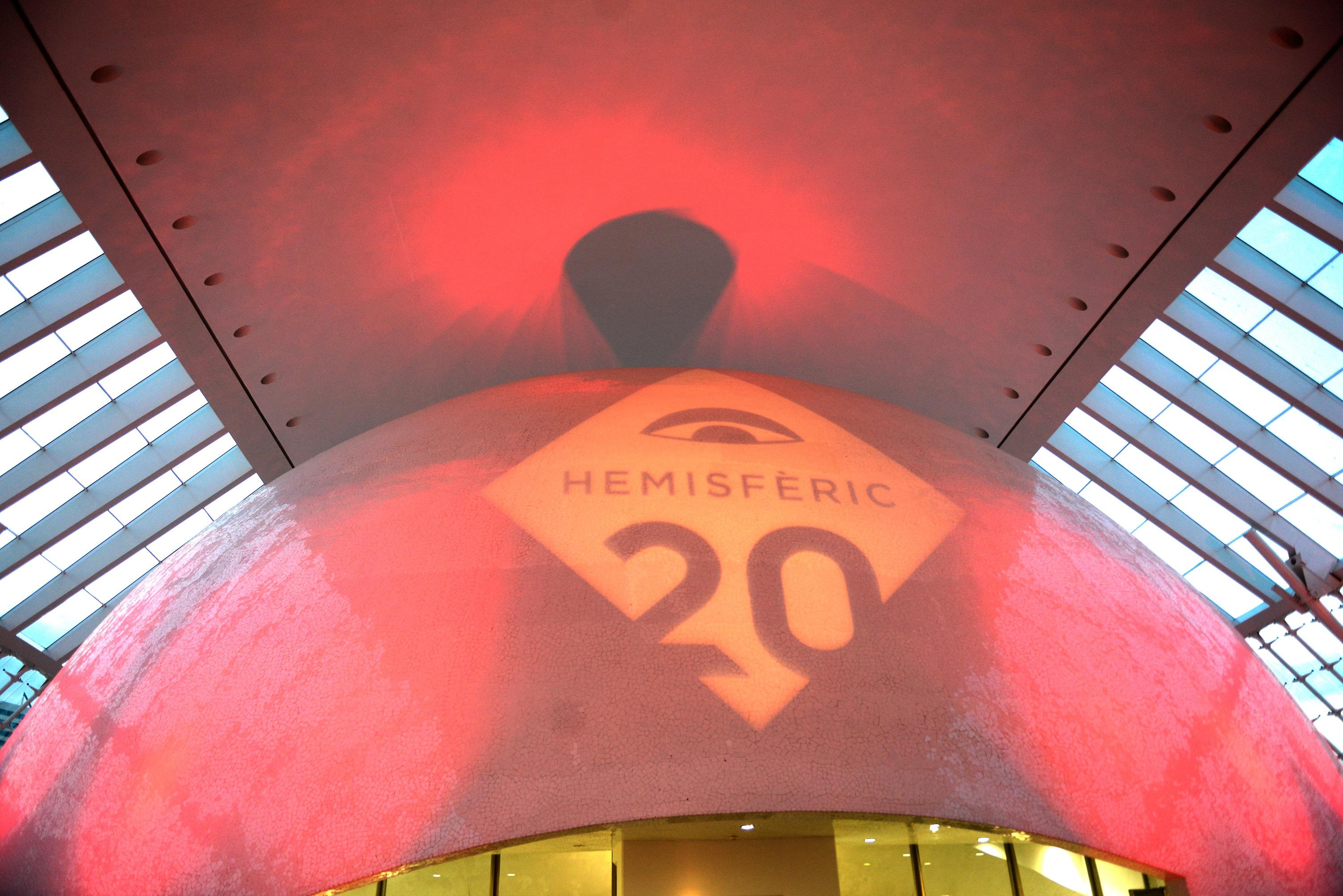 La Ciutat de les Arts i les Ciències continúa la celebración del aniversario del Hemisfèric este puente del 1 de mayo