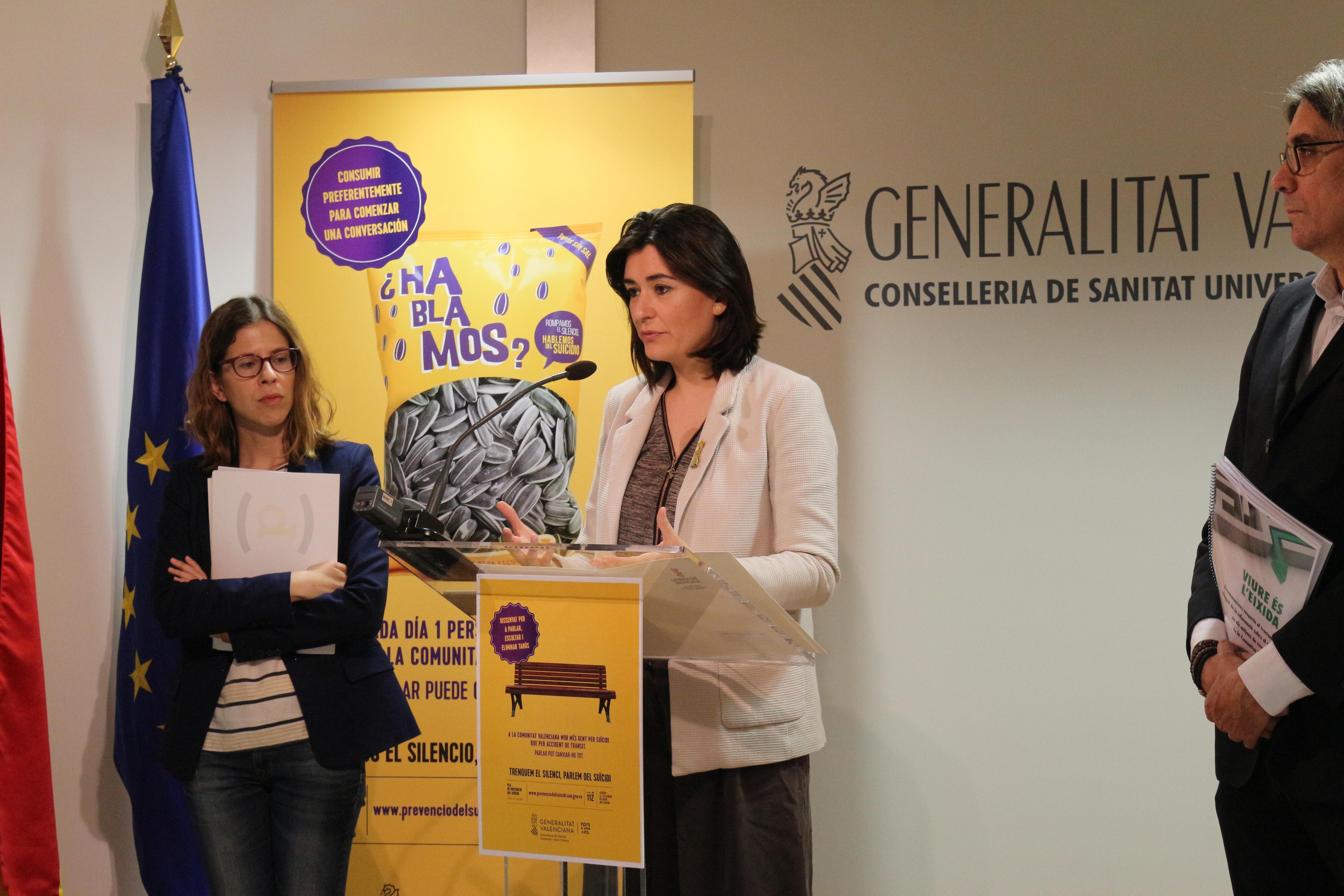 """Montón presenta la campanya preventiva """"Trenquem el silenci, parlem del suïcidi"""" i una guia per a mitjans amb la Unió de Periodistes"""