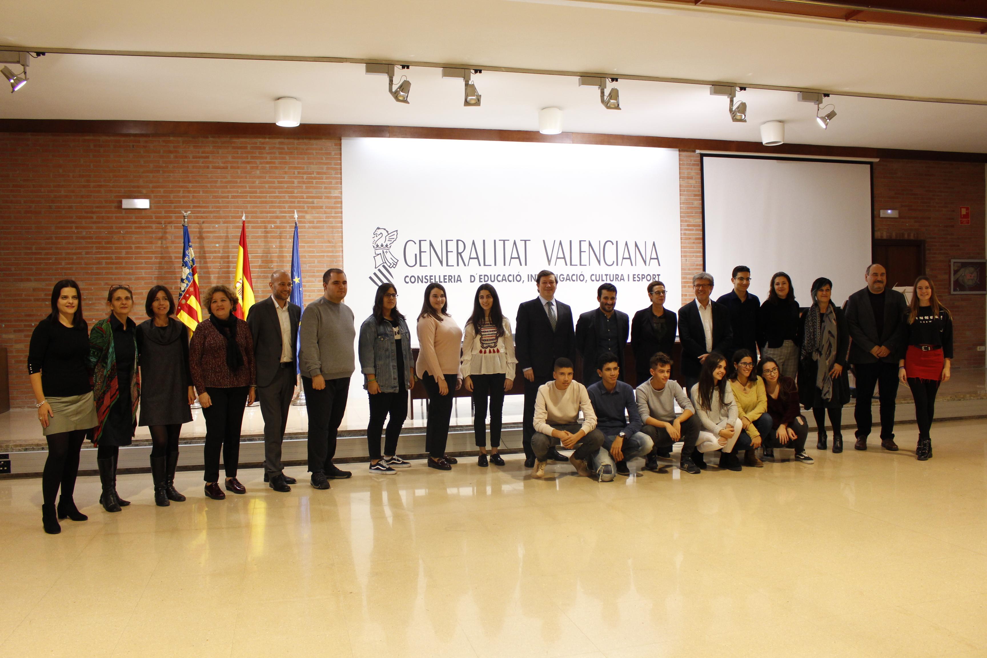 """Marzà: """"Després d""""un esforç col·lectiu i de la voluntat d""""aquesta administració, hem fet realitat el programa Batxibac en dos instituts valencians"""""""