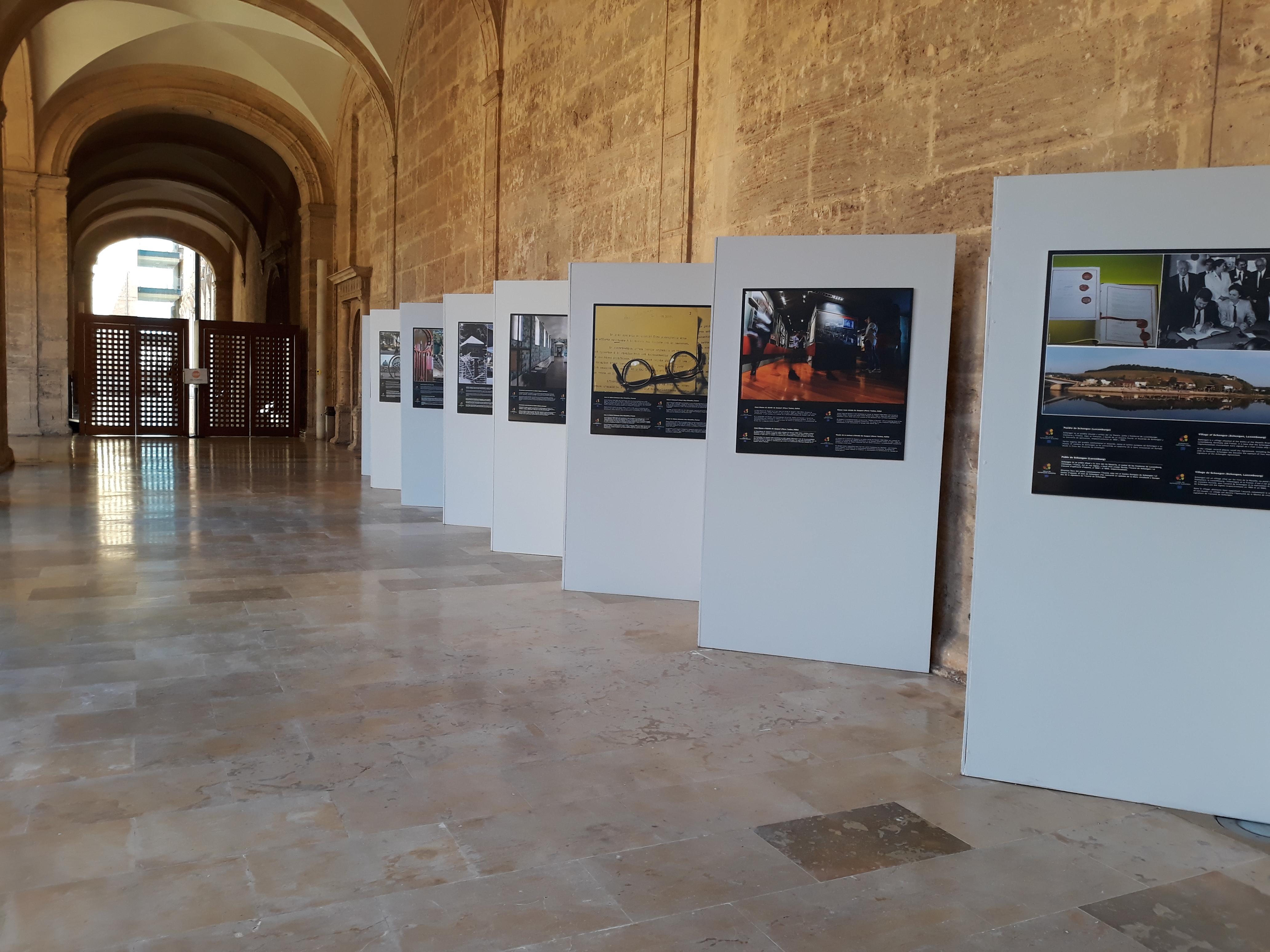 """Sant Miquel dels Reis acull l""""exposició de la Unió Europea sobre llocs i documents amb Segell de Patrimoni Europeu"""