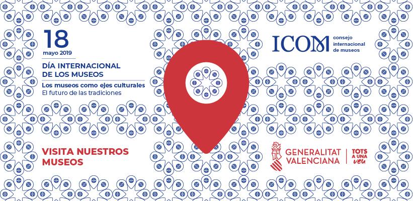 Cultura ofereix un mapa digital amb la informació de tots els museus reconeguts del territori valencià