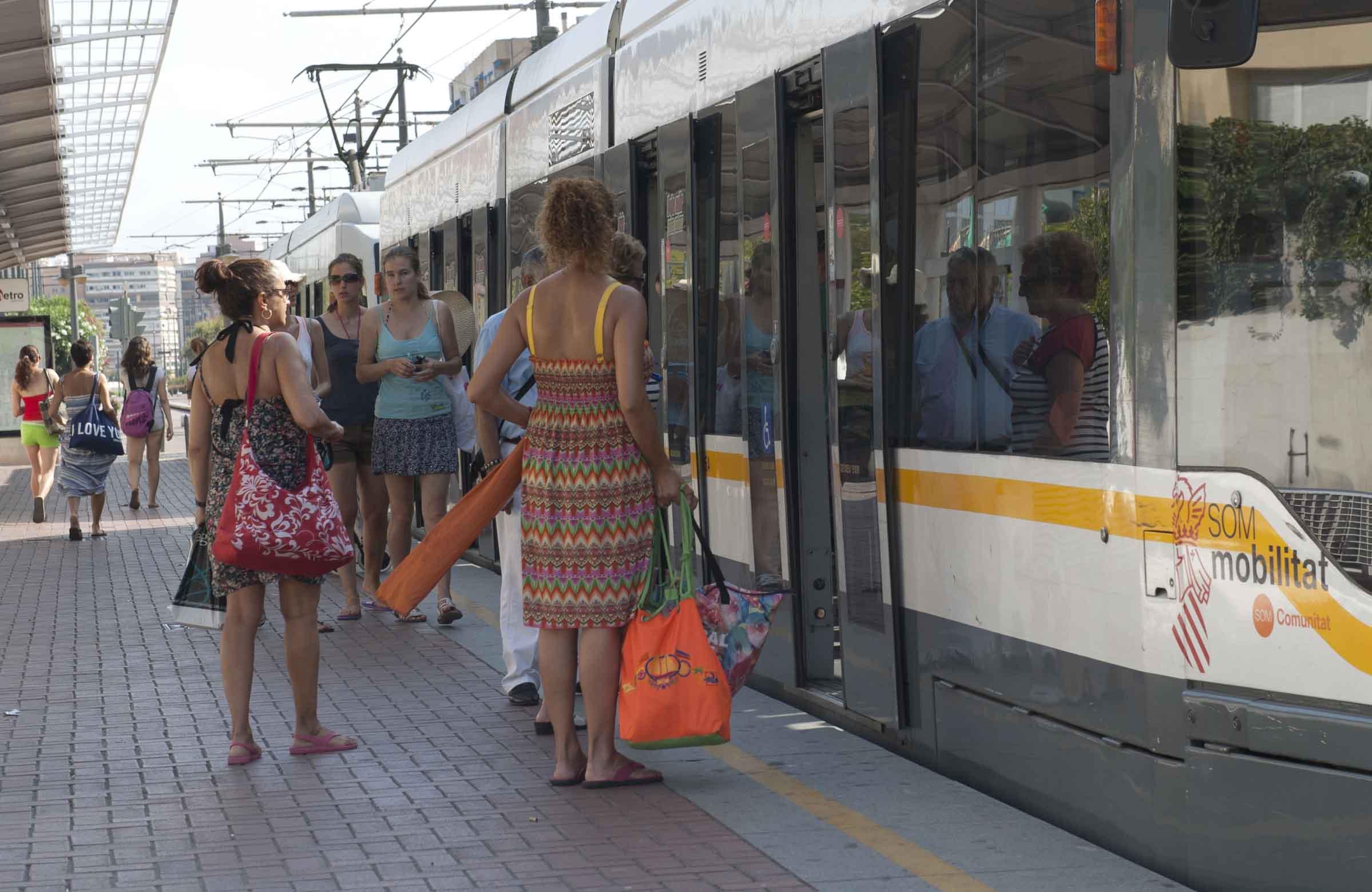 Metrovalencia desplazó en mayo a 6,1 millones de viajeros