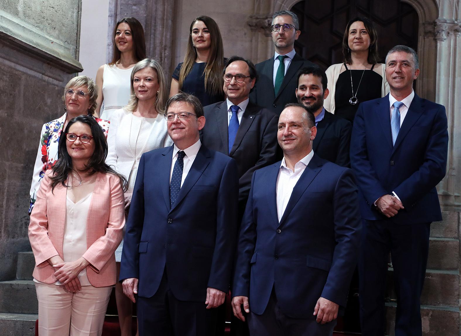 """Ximo Puig destaca que el segon Govern paritari de la Comunitat assumeix """"l""""ambició col·lectiva"""" d""""acabar amb la violència masclista"""