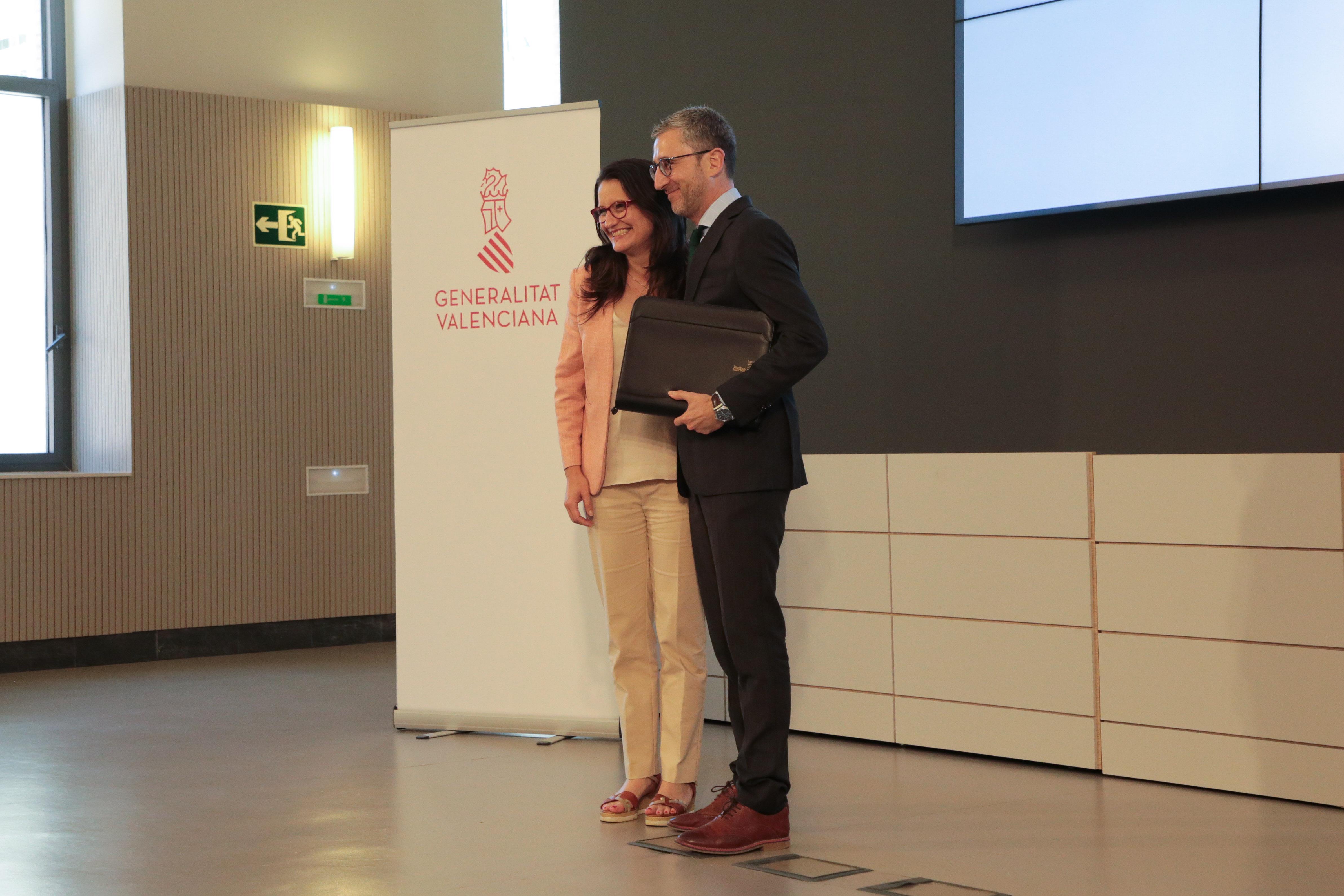 """El conseller de Política Territorial, Obres Públiques i Mobilitat, Arcadi España, exigirà inversions justes per a la Comunitat Valenciana i l""""agil..."""