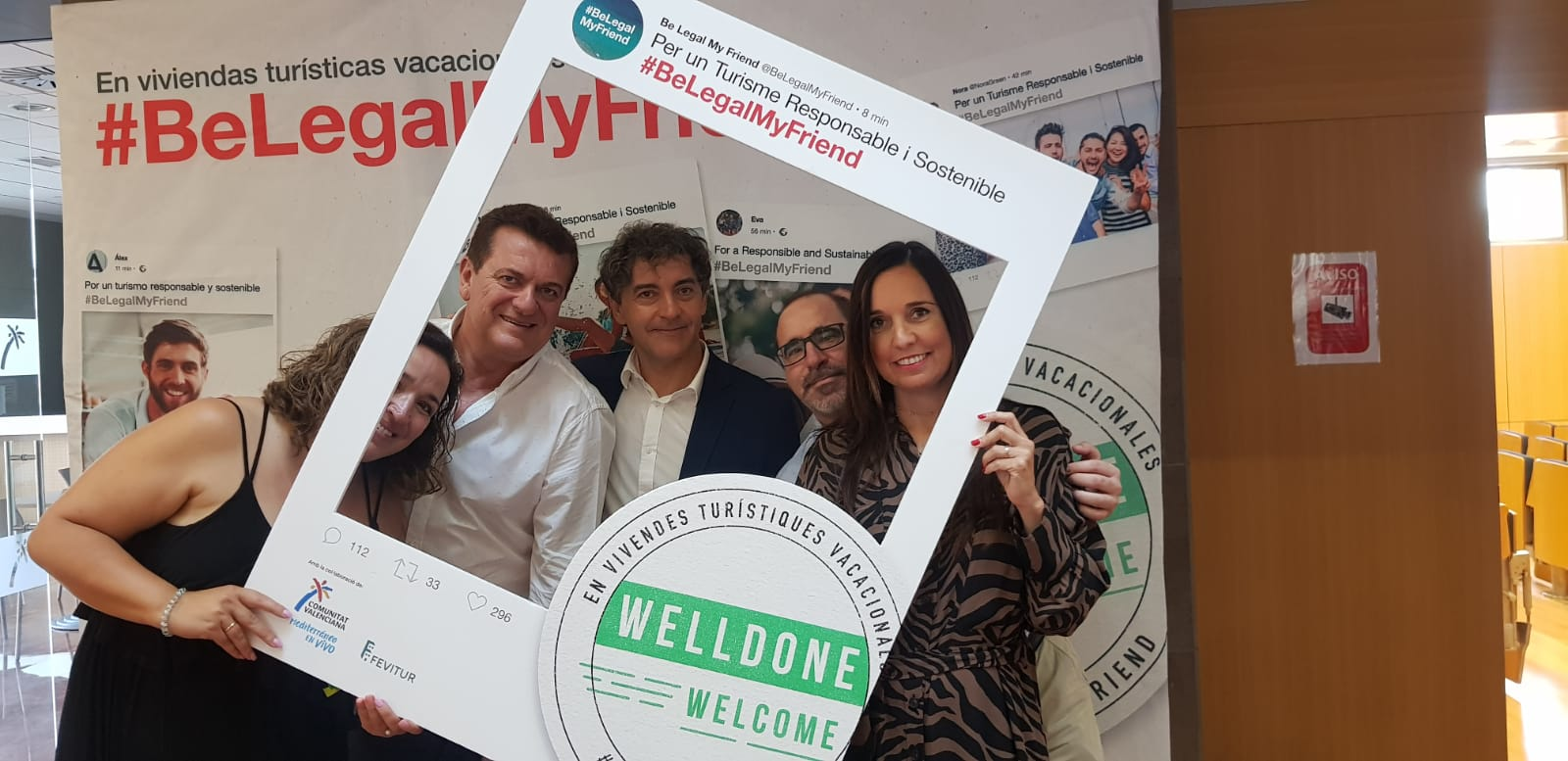 "Turisme i Fevitur presenten en Invat·tur la nova campanya ""Welldone, Welcome"""