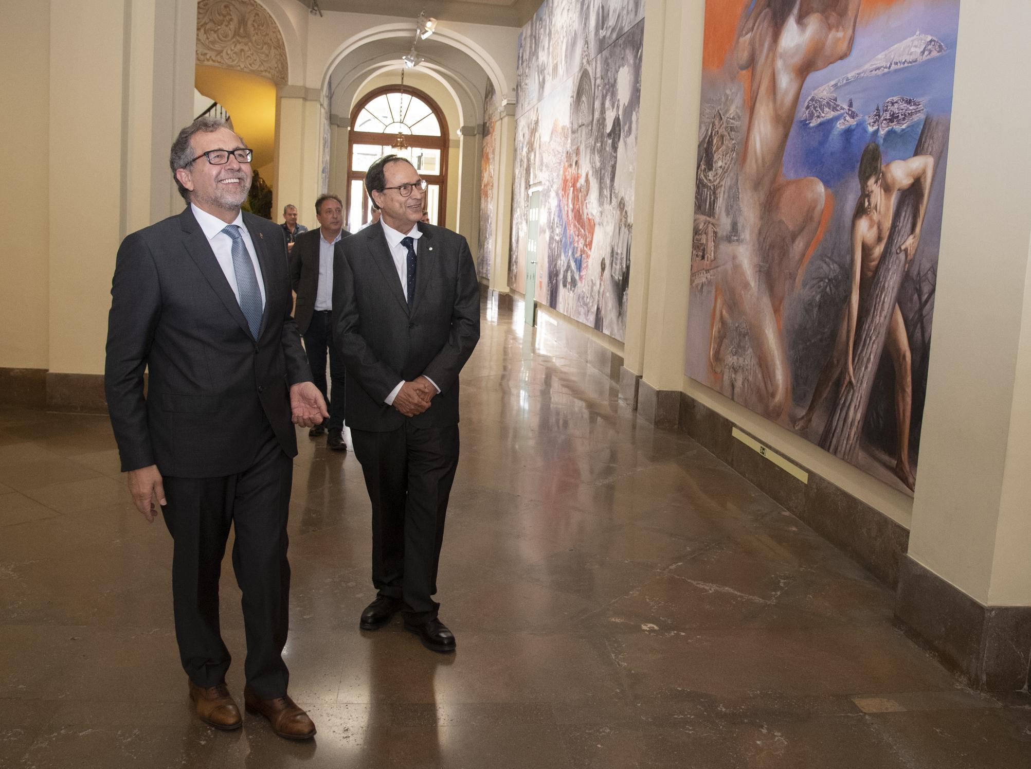 """Vicent Soler ofereix al president de la Diputació de Castelló la """"col·laboració total"""" del Consell per a """"fer de la província un territori de futur"""""""