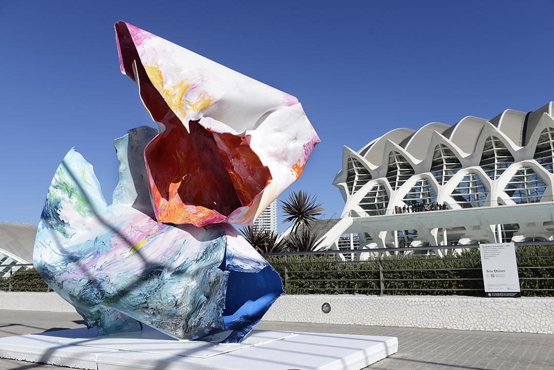 Las exposiciones de arte completan la oferta cultural y científica de la Ciutat de les Arts i les Ciències