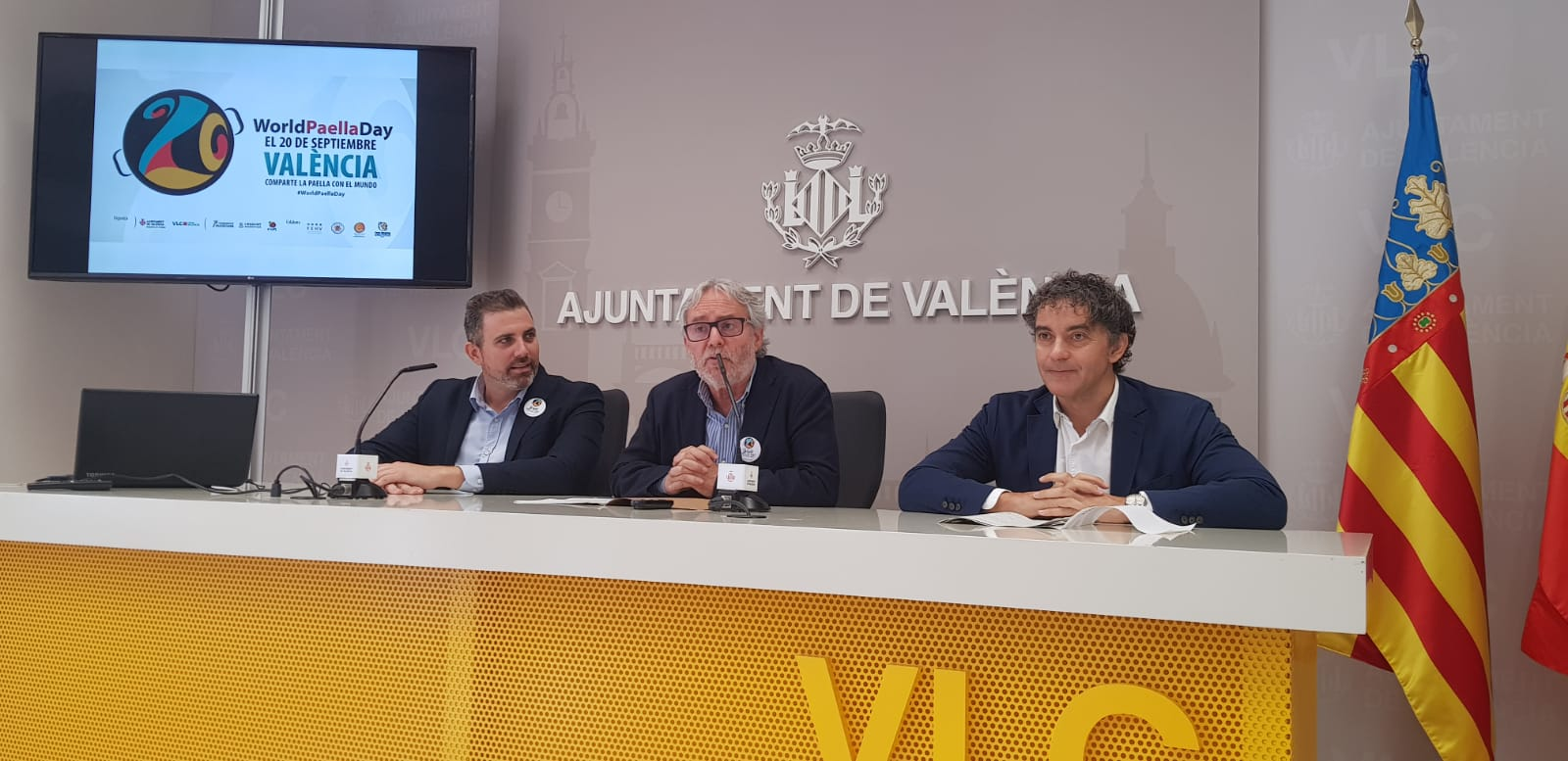 """Colomer: """"El """"World Paella Day"""" és un encert d""""estratègia de reposicionament i d""""internacionalització de València"""""""