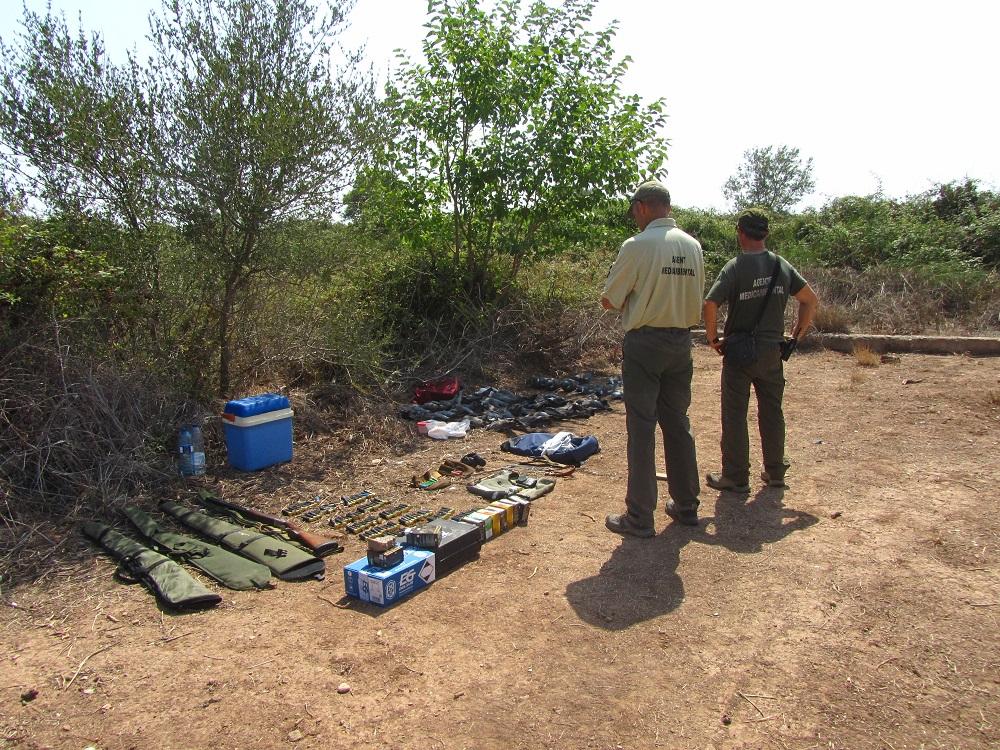 Agricultura inicia un expedient sancionador a un caçador furtiu que va abatre 38 coloms tudó a Borriana