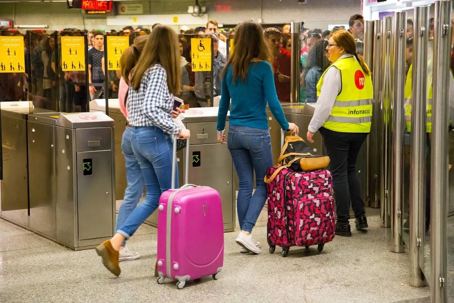 La Generalitat favorece el desplazamiento de 3,7 millones de usuarios en Metrovalencia en agosto