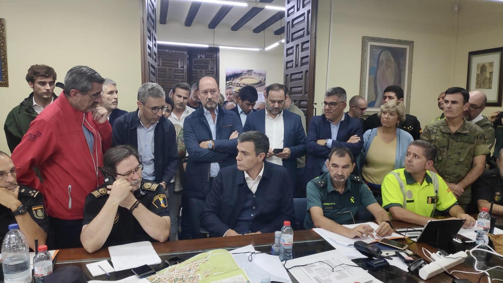 El Consell impulsará conjuntamente con Gobierno central y el resto de administraciones medidas de reparación ante los efectos del temporal