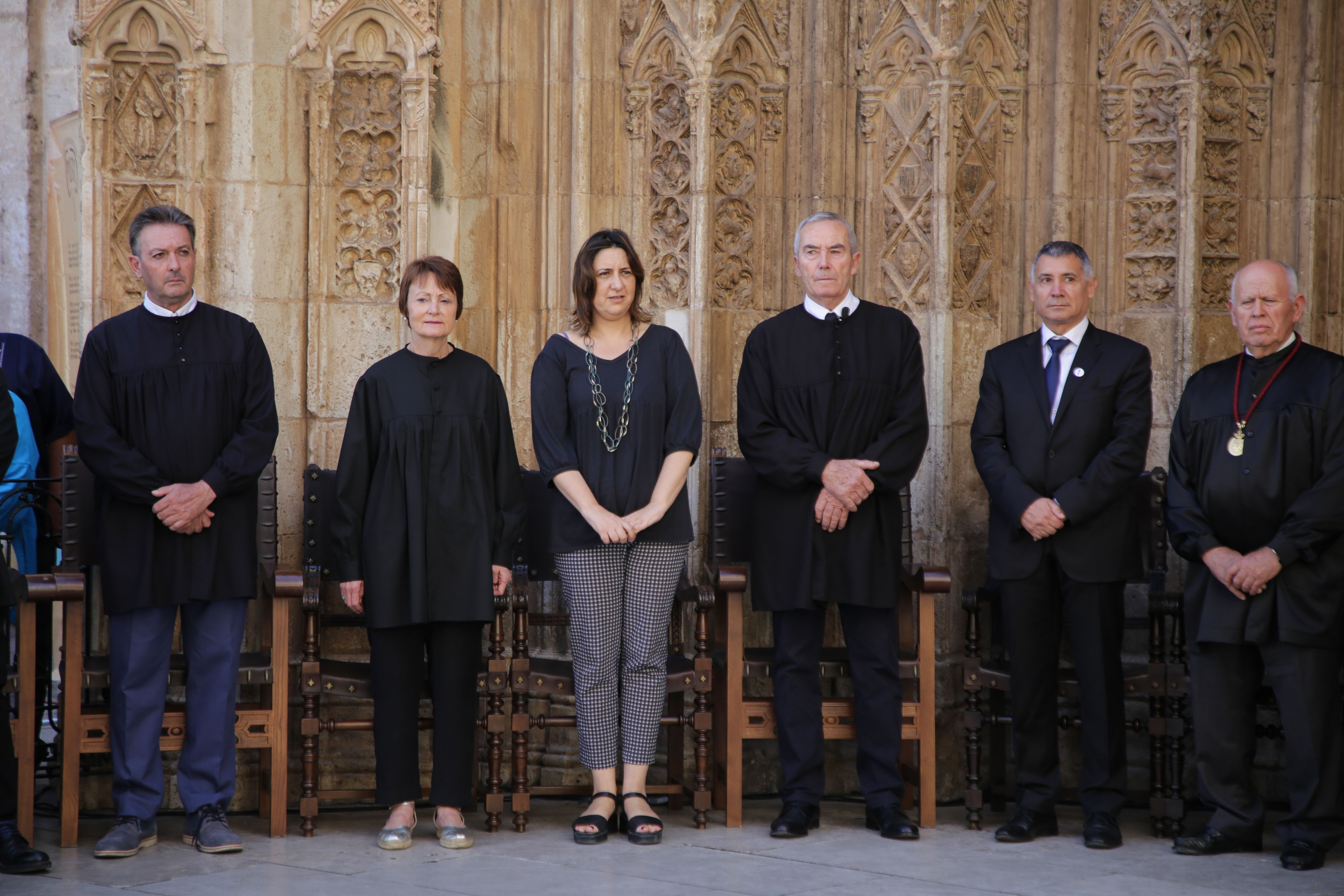 """Pérez Garijo: """"El Tribunal de les Aigües constitueix un patrimoni molt valuós per al nostre poble i una eina bàsica del nostre autogovern"""""""