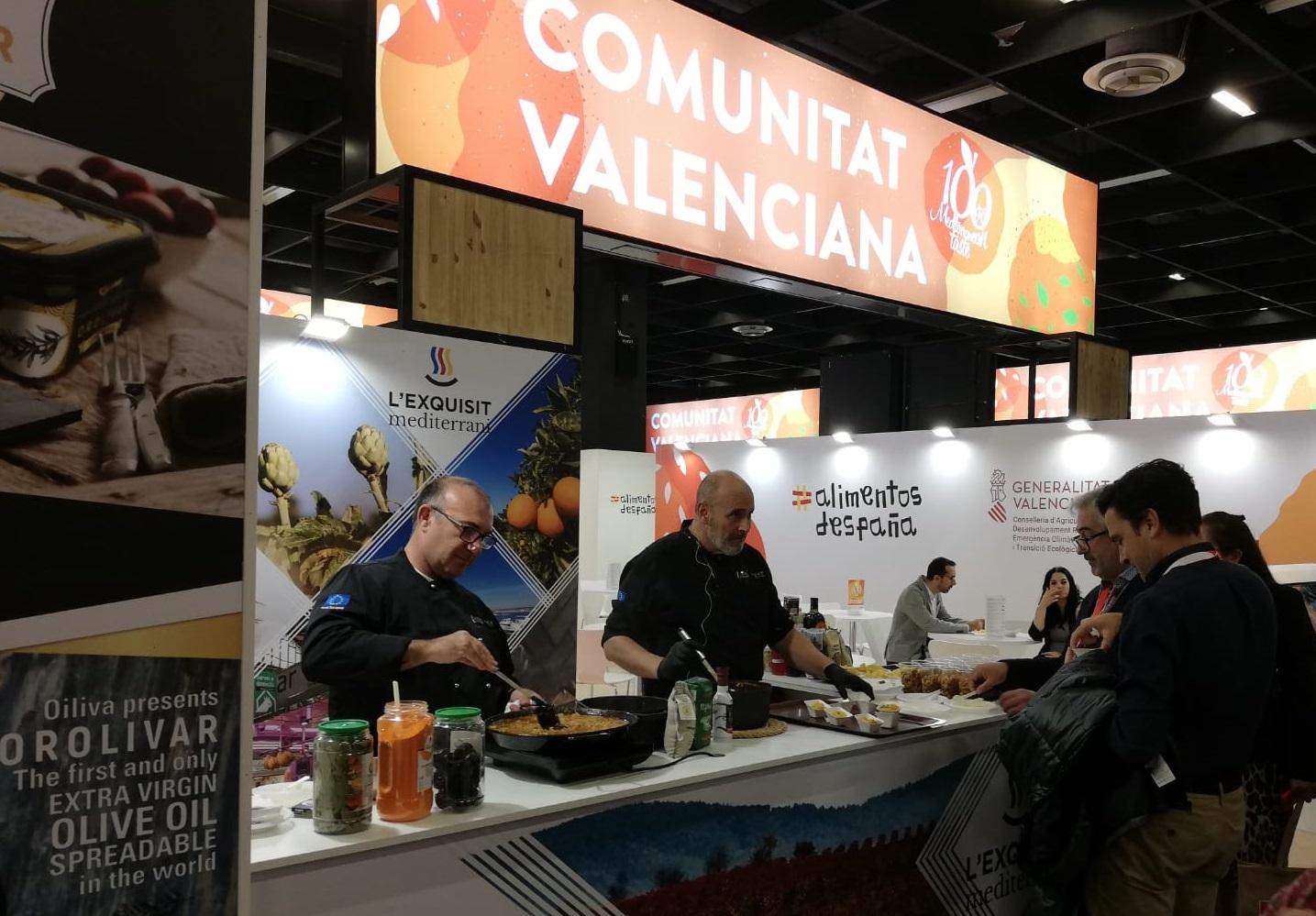 La Conselleria de Agricultura participa en la feria Anuga junto a 41 empresas de la Comunitat Valenciana