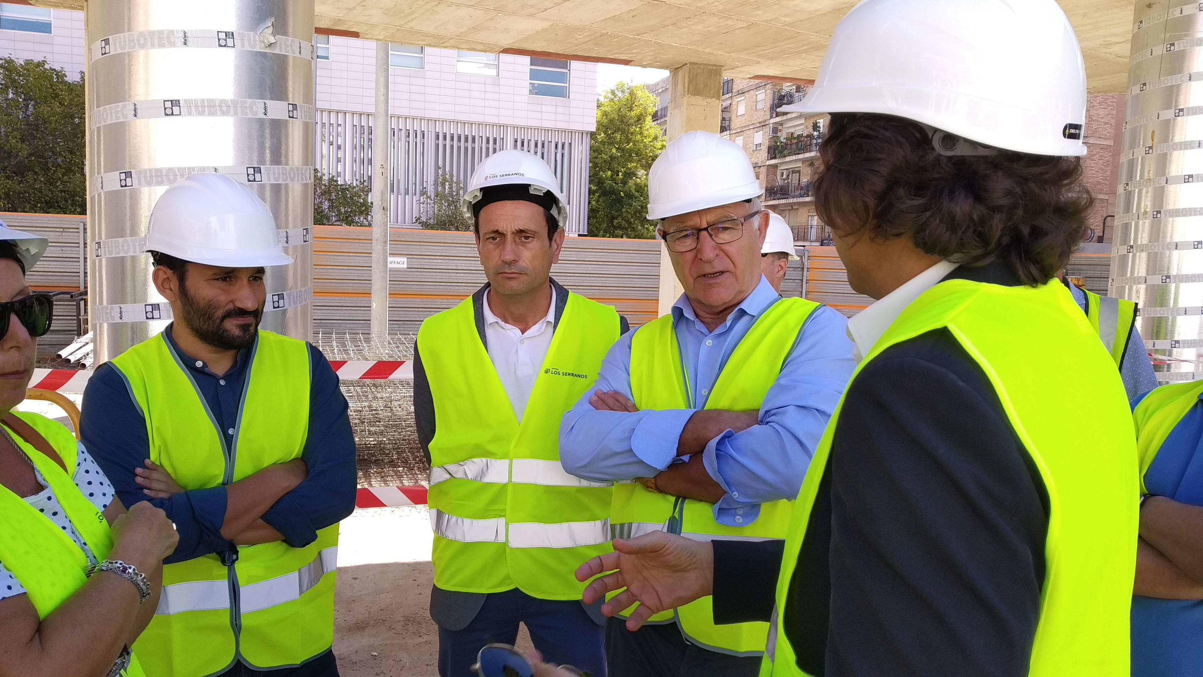 La Generalitat y el Ayuntamiento de València reanudan la construcción de Nou Moles