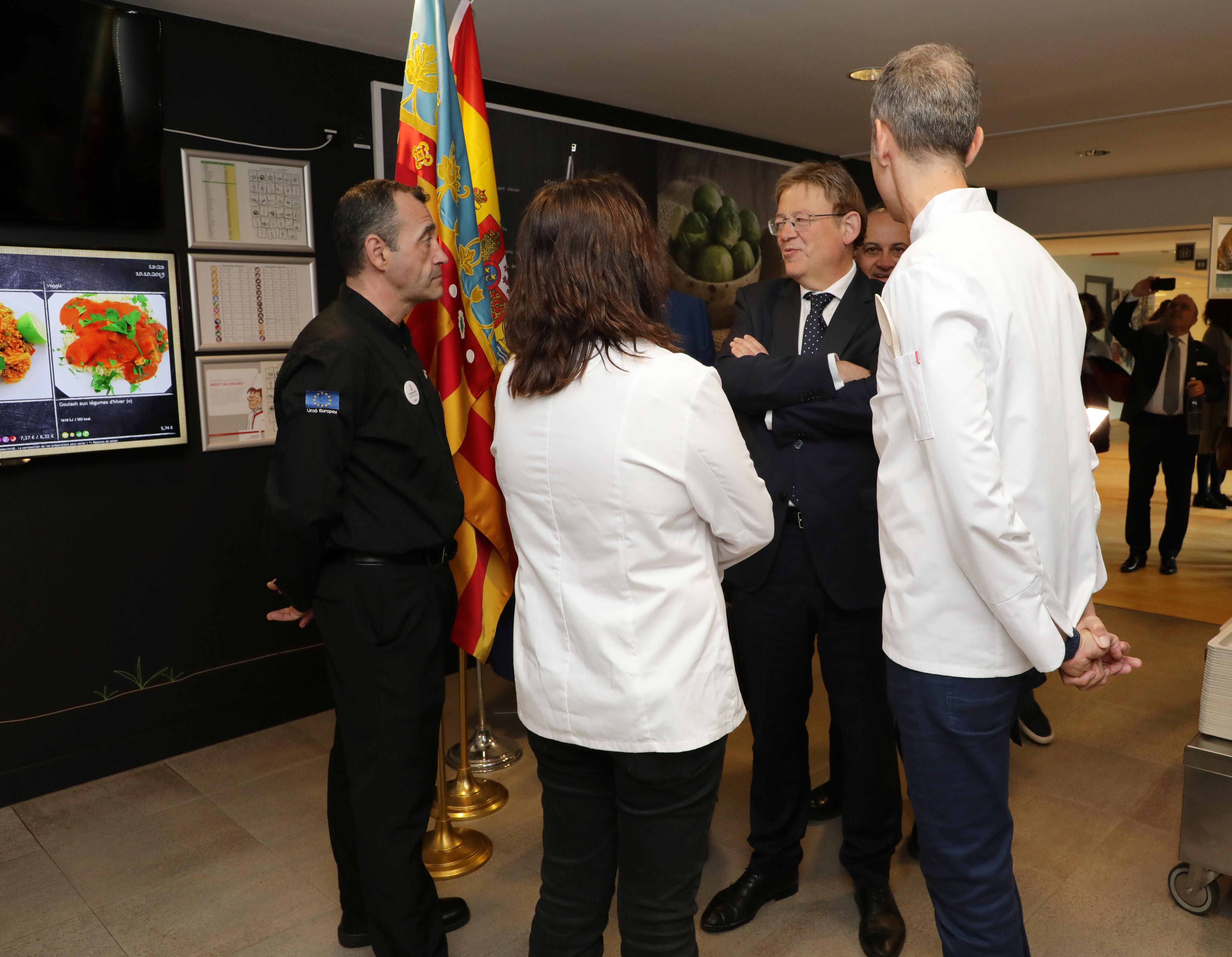 """Ximo Puig destaca la diversidad gastronómica como """"seña de identidad"""" del pueblo valenciano y defiende su importancia para un turismo de calidad"""