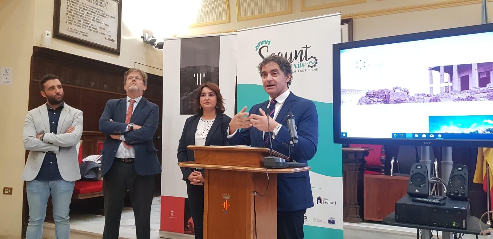 """Colomer apuesta por """"potenciar nuevos productos turísticos basados en el patrimonio histórico y cultural que muestran la singularidad de la Comunitat"""""""