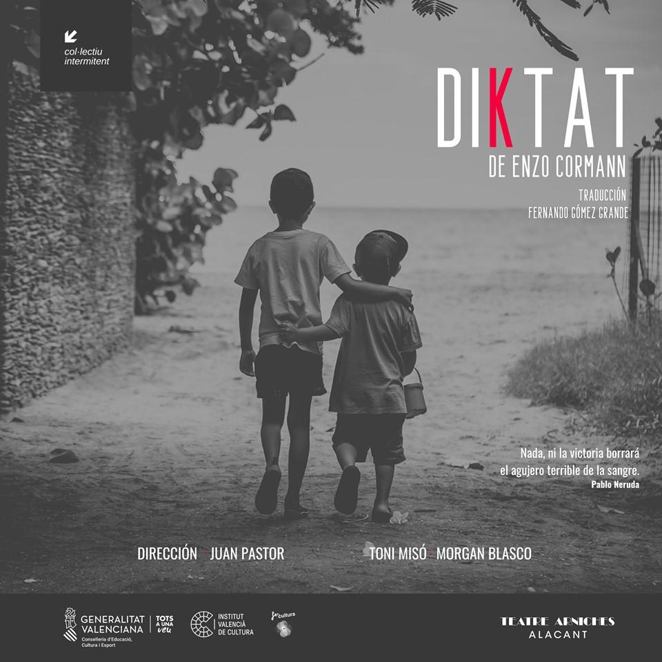 """L""""estrena absoluta de """"Diktat"""" protagonitza el cap de setmana al Teatre Arniches"""
