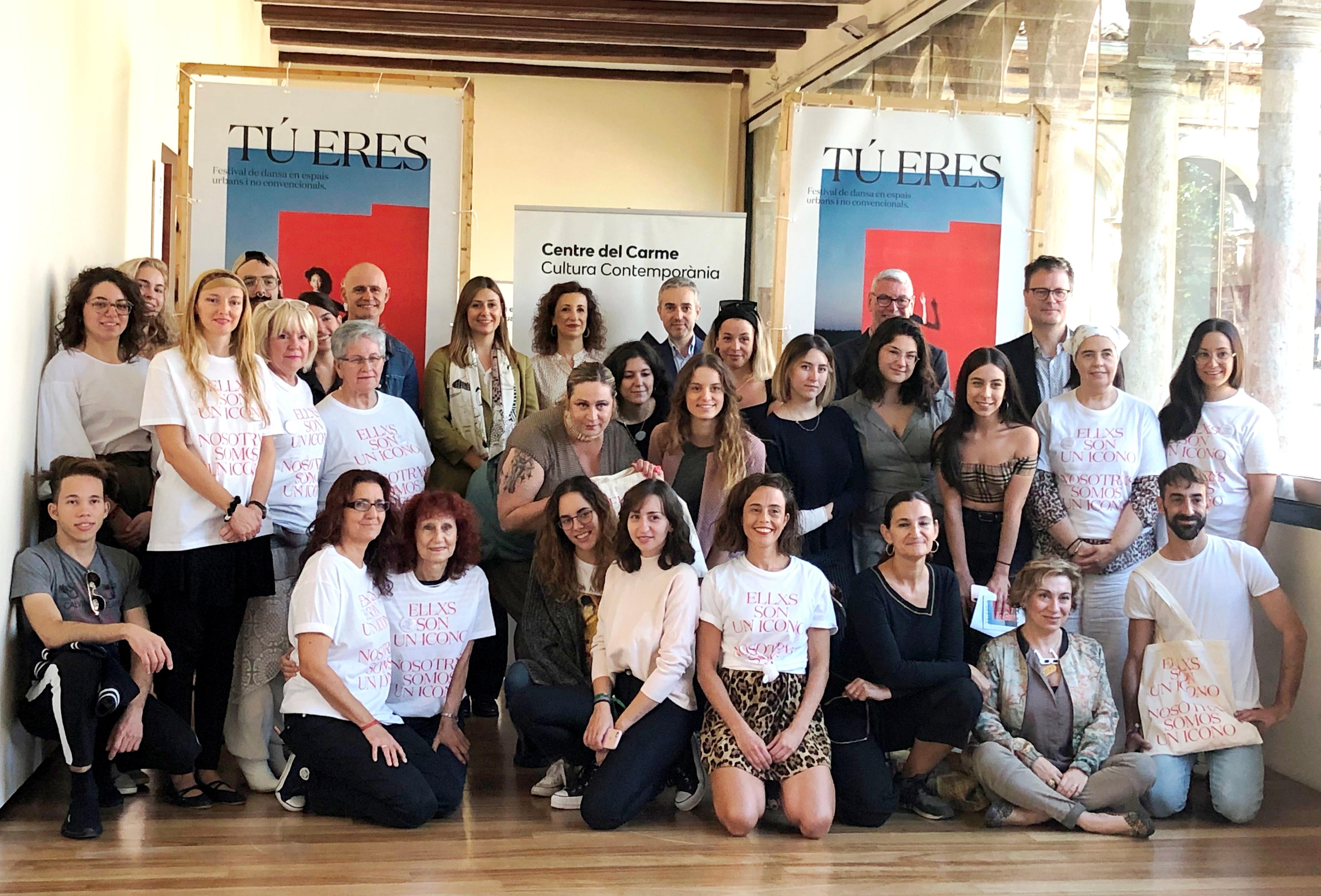 El Centre del Carme presenta el festival Circuito Bucles Dansa més feminista