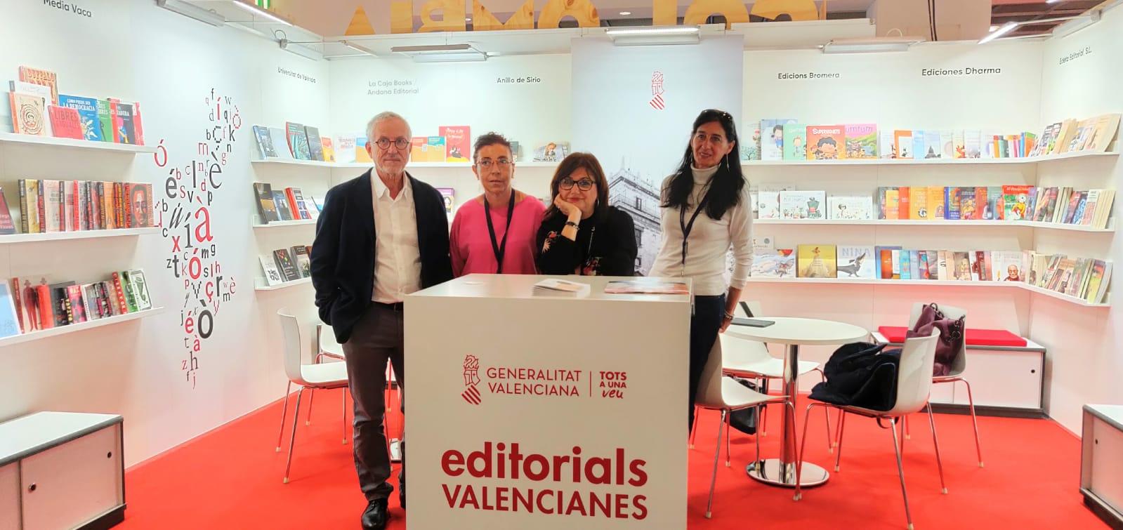 La Generalitat facilita la participación de las editoriales valencianas en la Feria del Libro de Frankfurt
