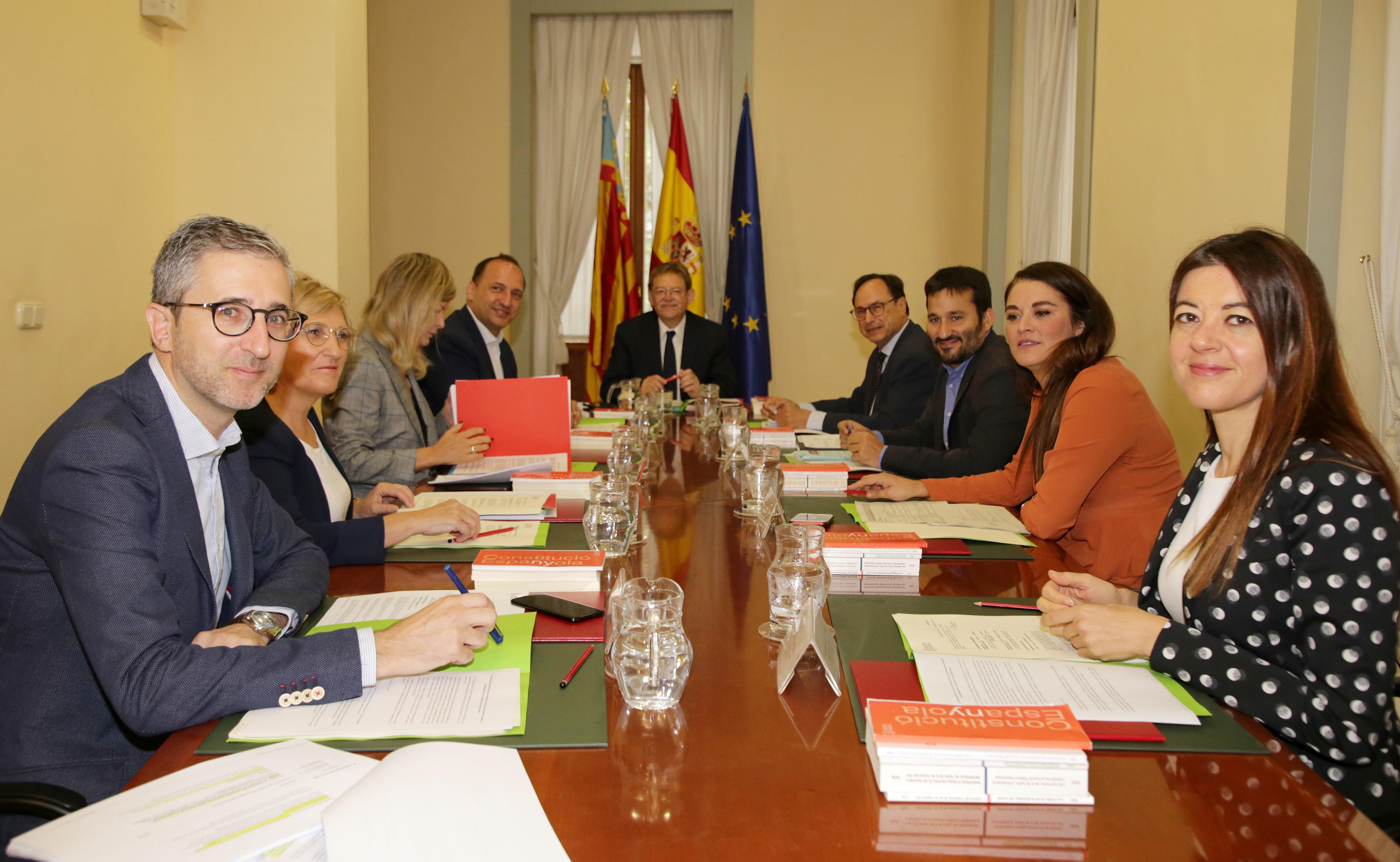 El Pleno del Consell se reúne en Alicante