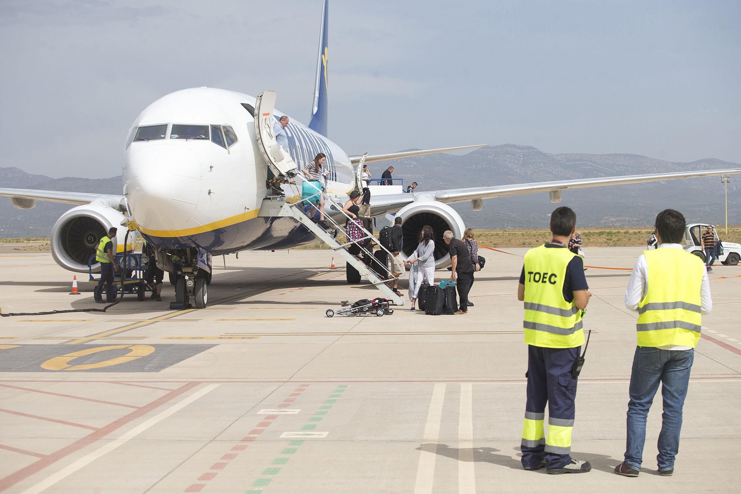 El aeropuerto de Castellón supera los 500.000 pasajeros y 10.000 movimientos de aeronaves desde su apertura al tráfico