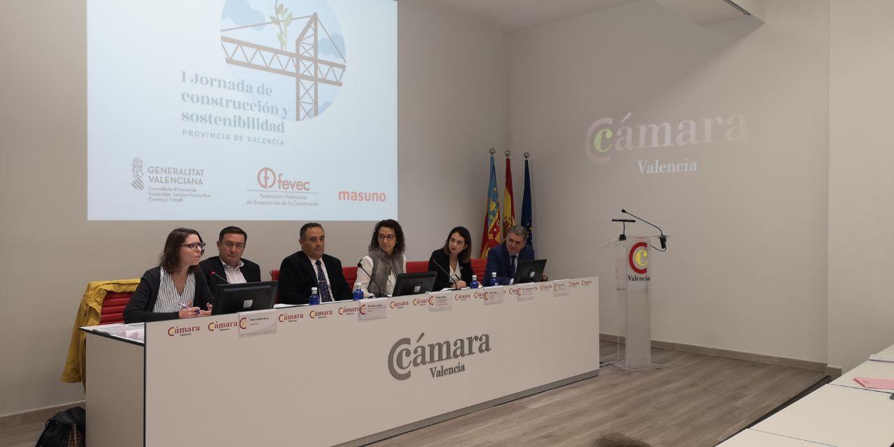 La Generalitat col·labora en les primeres Jornades de Construcció i Sostenibilitat, promogudes per FEVEC