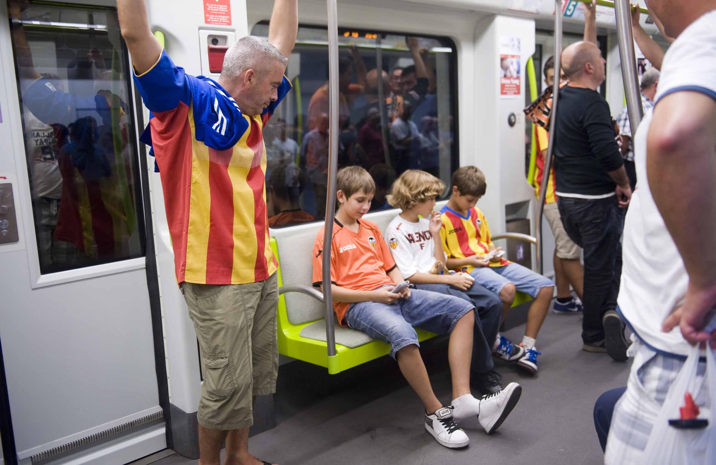 La Generalitat facilita la movilidad el martes 5 para el partido de Champions entre el Valencia y el Lille