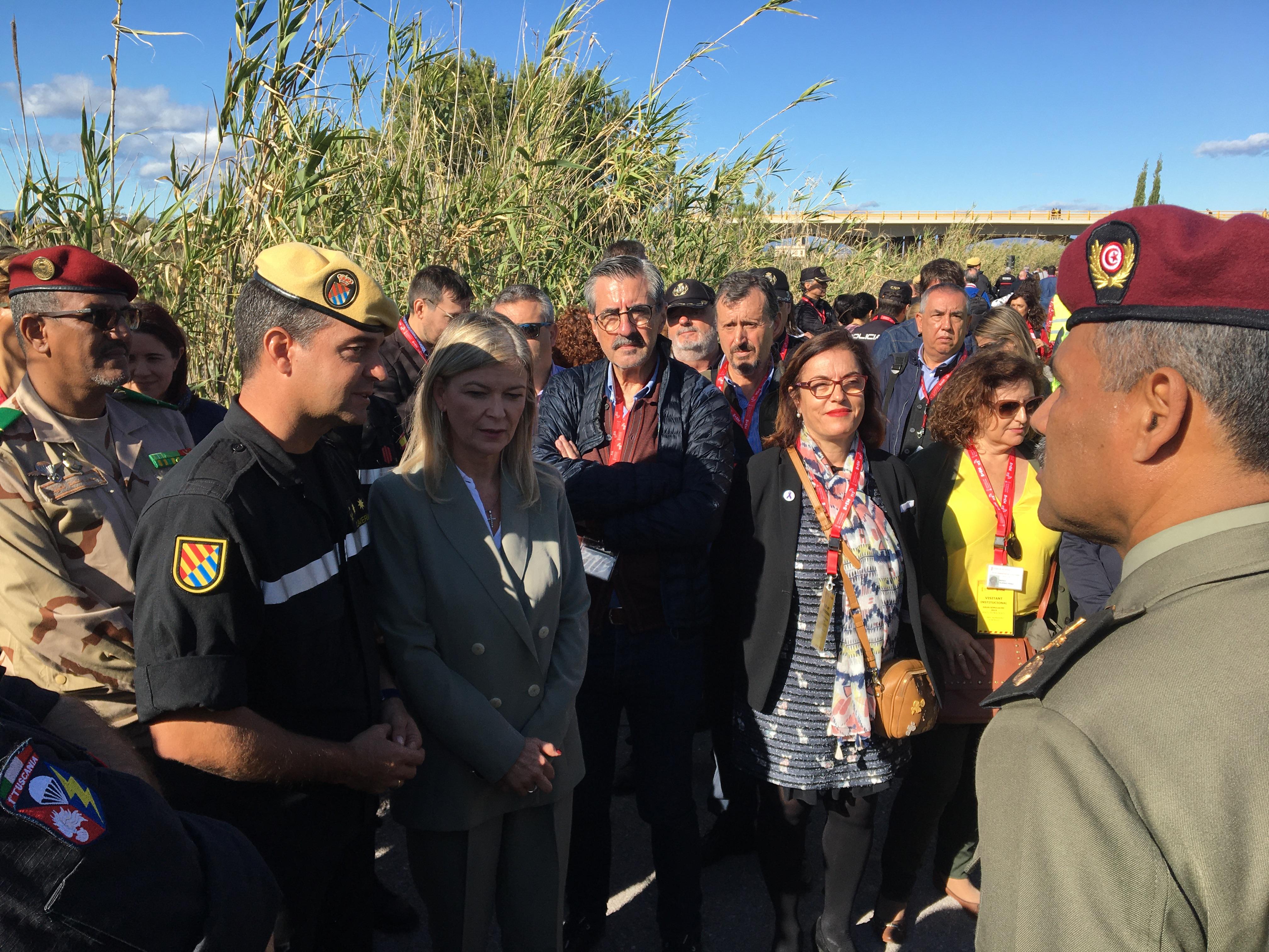 La Generalitat coordina a medio millar de personas en el #Gransimulacre2019 de accidente con múltiples víctimas riesgo RBQ