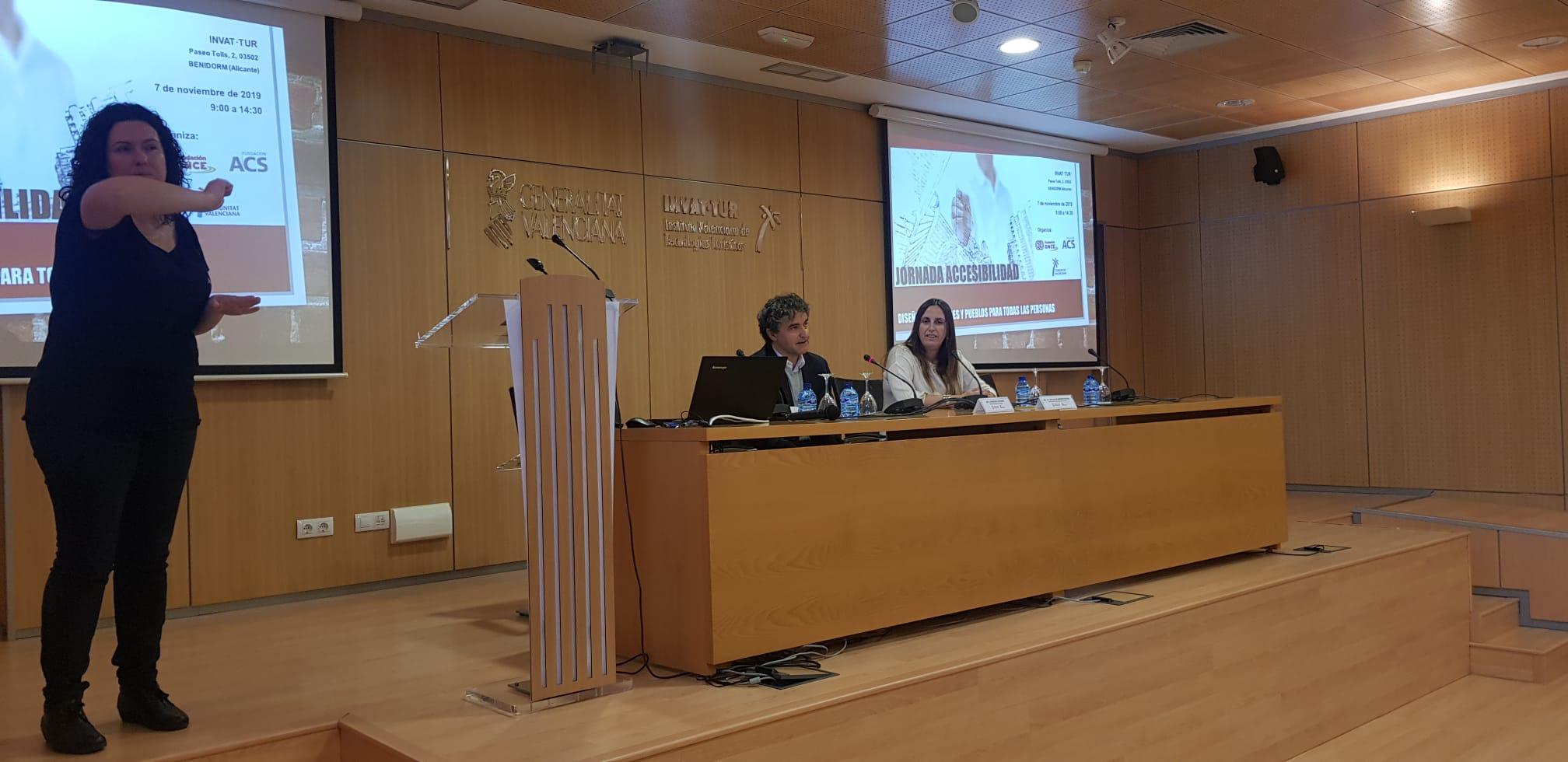 """Colomer destaca que """"trabajar por el turismo accesible es trabajar por todos"""""""