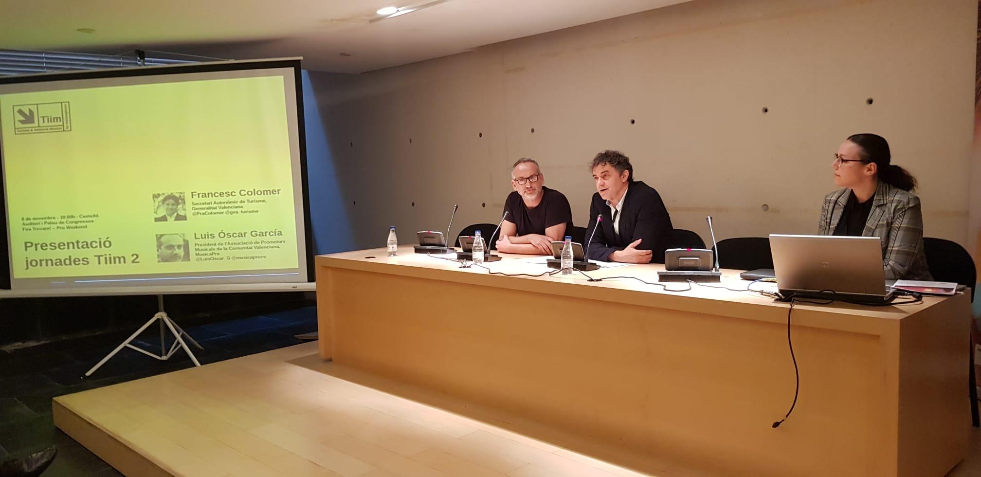 Personal expert i promotor analitza el potencial de la música com a element dinamitzador del turisme a la Comunitat Valenciana