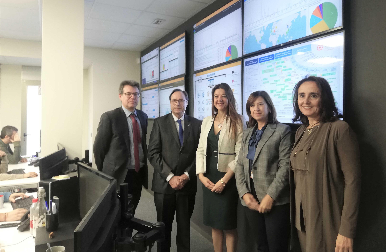 Las conselleries de Hacienda e Innovación colaborarán para extender las acciones de ciberseguridad a empresas y ciudadanía
