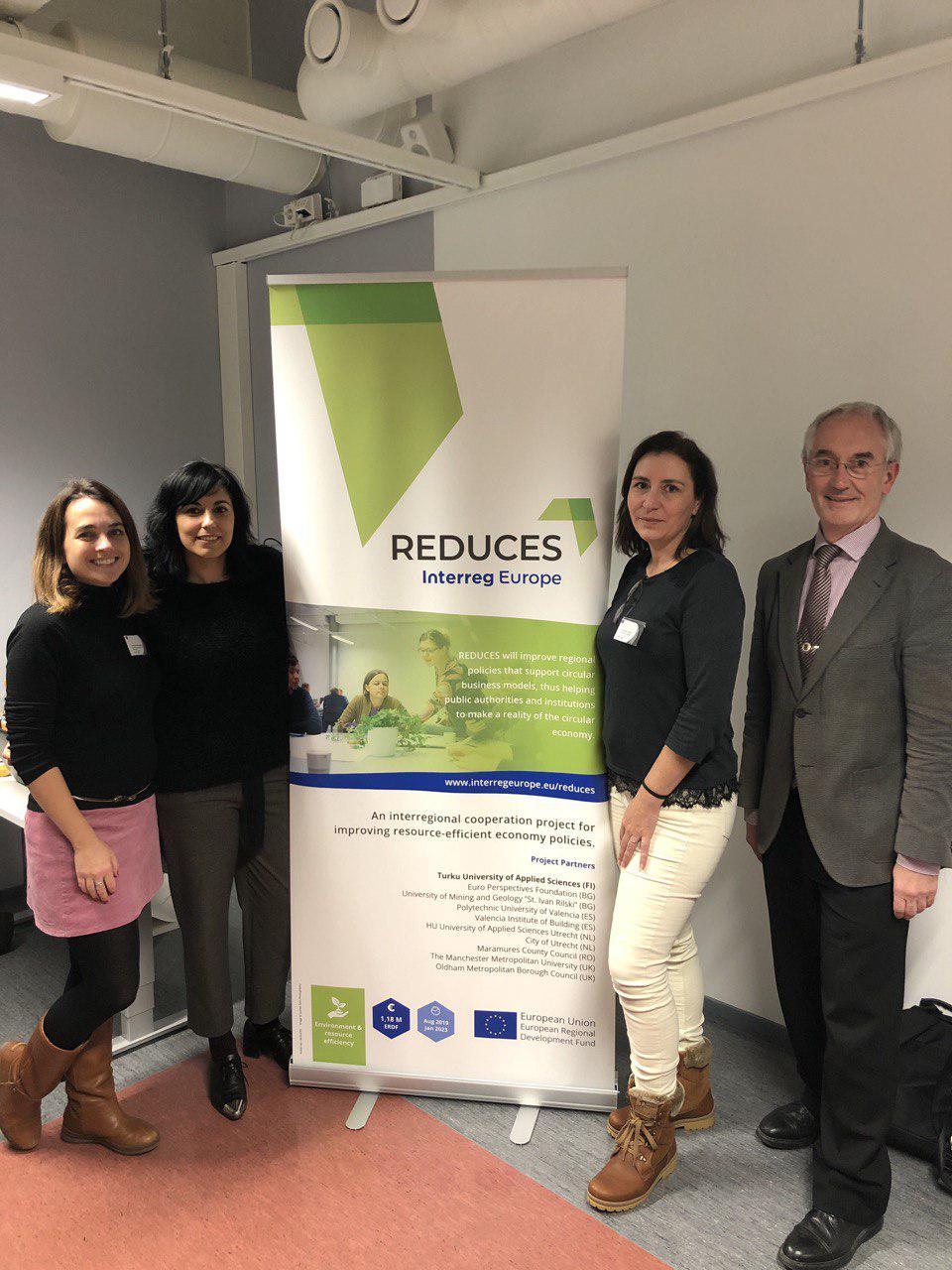 València acoge el próximo encuentro del proyecto Reduces de promoción del desarrollo sostenible