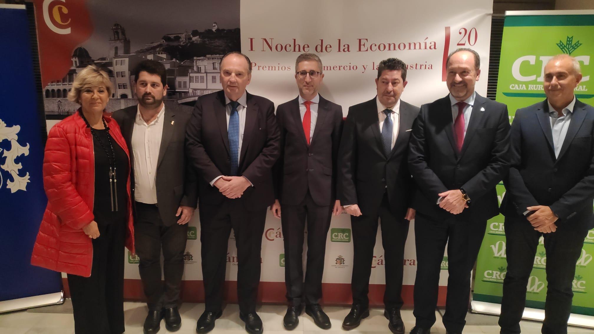 Arcadi España destaca la fuerza del tejido empresarial de la Vega Baja