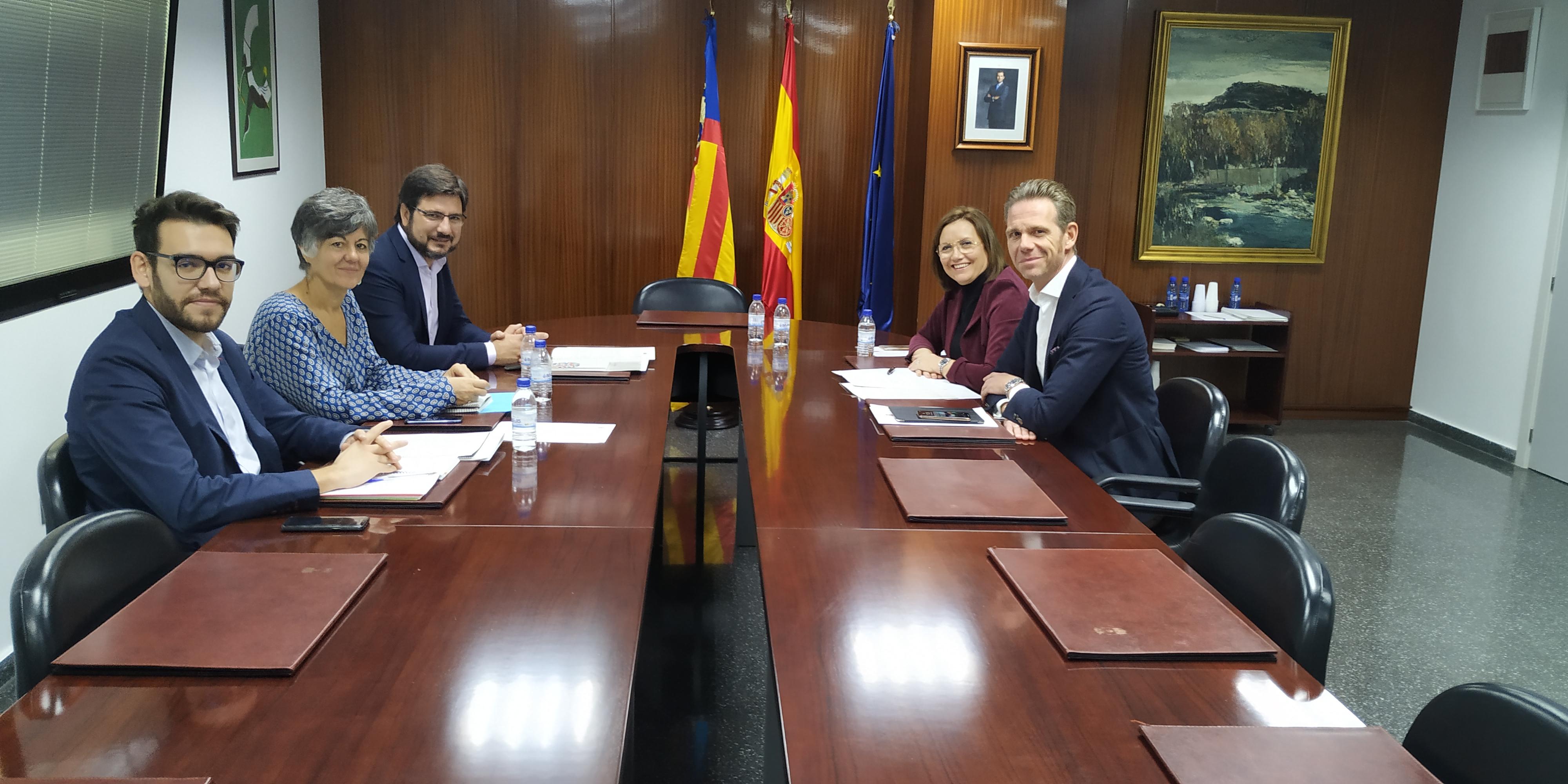 La Generalitat i la Diputació de Castelló enfortiran la seua col·laboració en les polítiques de transparència i participació ciutadana
