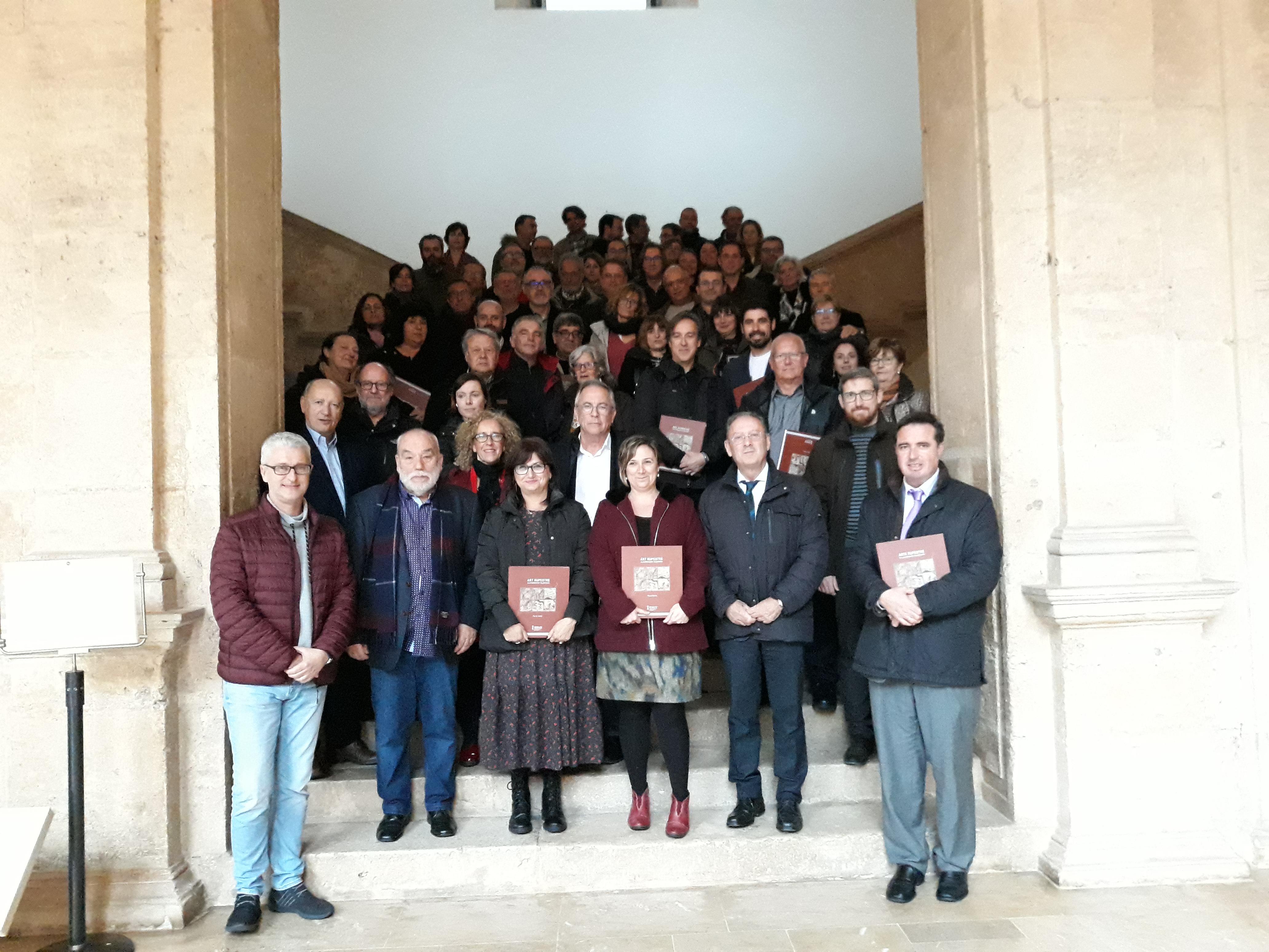 """Cultura de la Generalitat presenta el Pla de gestió d""""art rupestre en el territori valencià amb una actualització de jaciments rupestres"""