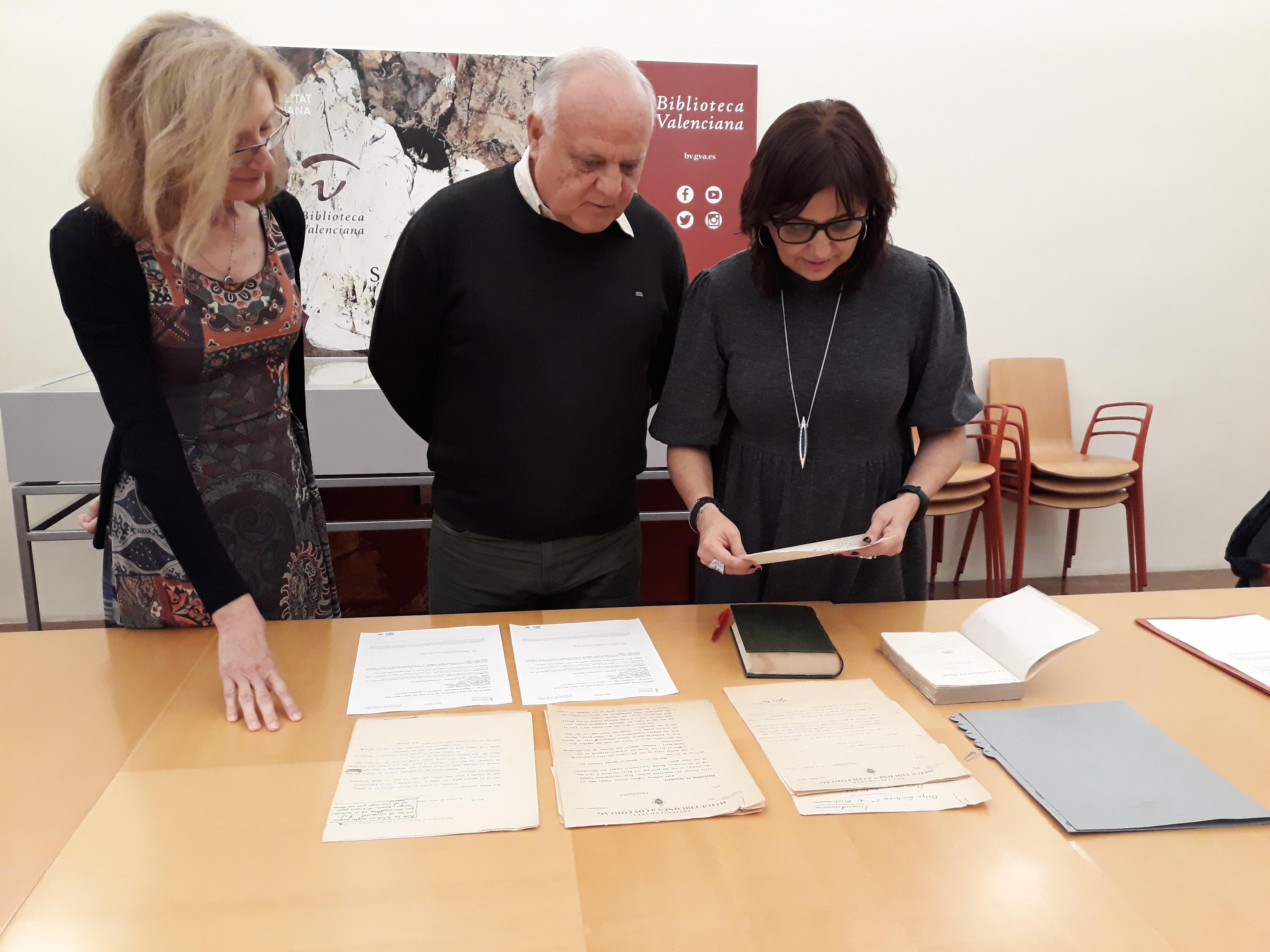 La Biblioteca Valenciana augmenta els fons documentals de Vicente Blasco Ibáñez