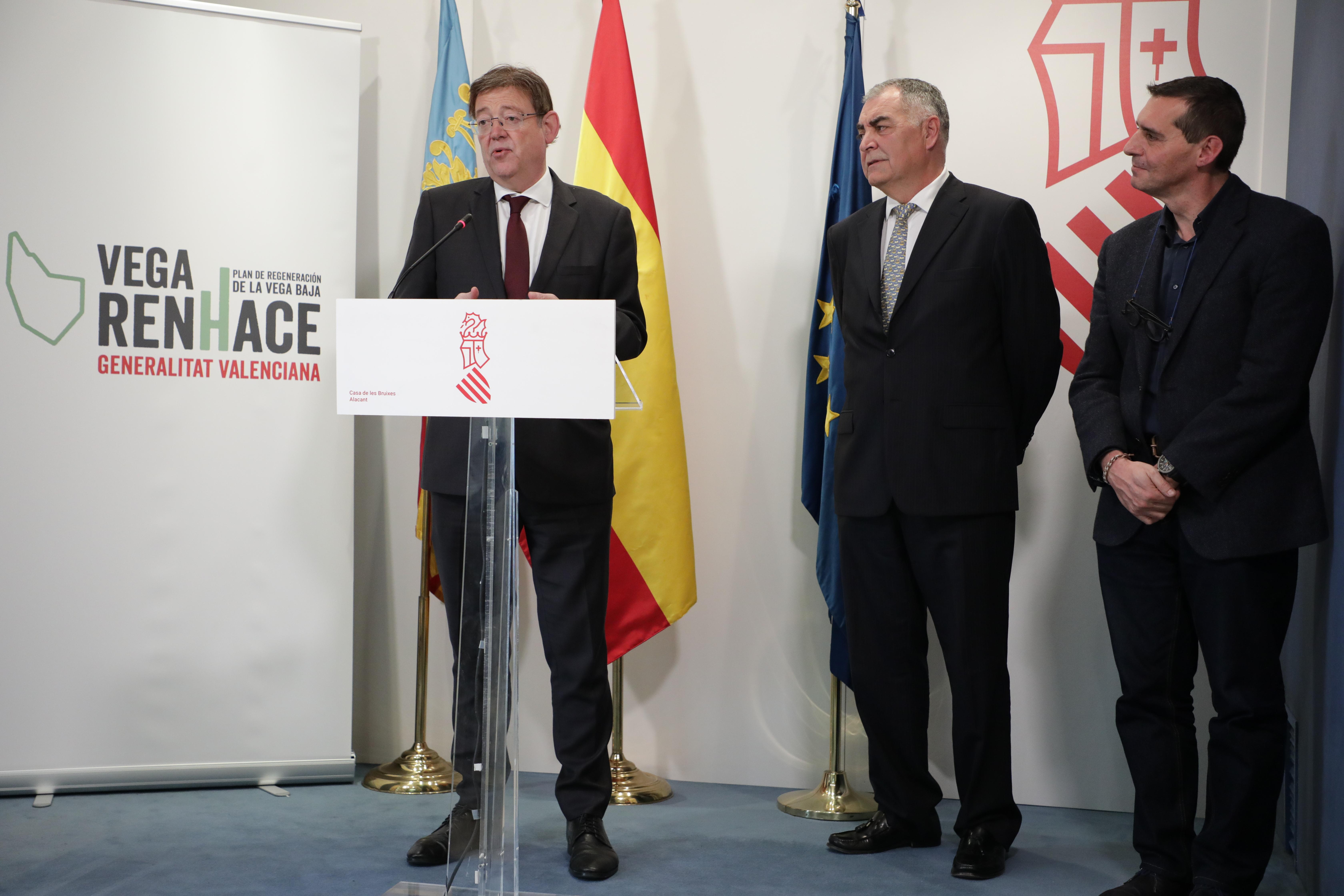 Ximo Puig anuncia el pago de 7,3 millones de euros para 22 ayuntamientos afectados por la DANA del pasado mes de septiembre