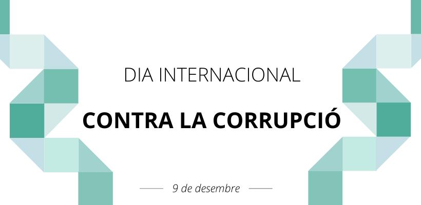 """Pérez Garijo: """"La lluita contra la corrupció és fonamental per a avançar en la consecució dels Objectius de Desenvolupament Sostenible"""""""