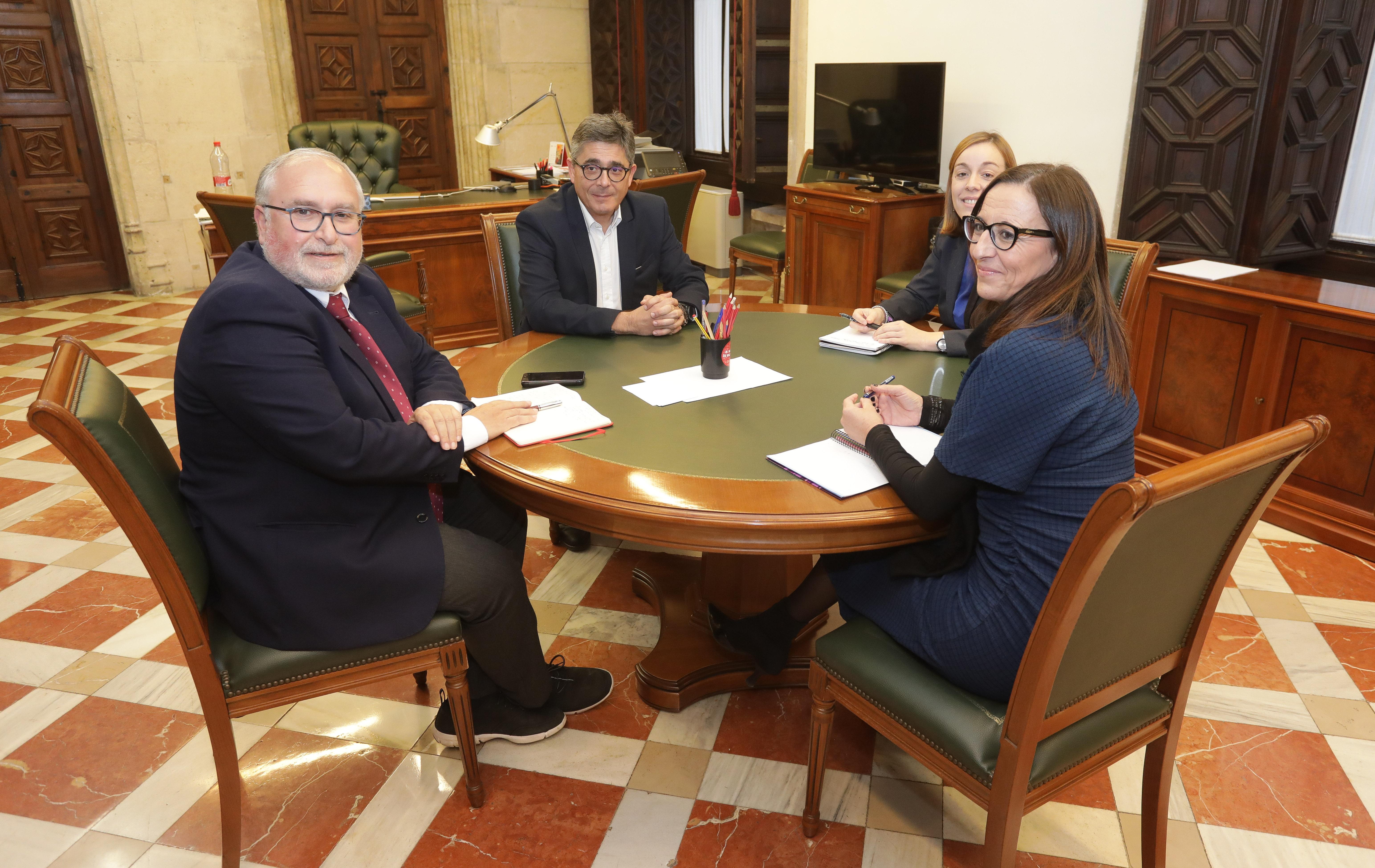 La Generalitat y la Diputación de Valencia ayudarán a las mancomunidades a convertirse en entidades comarcales