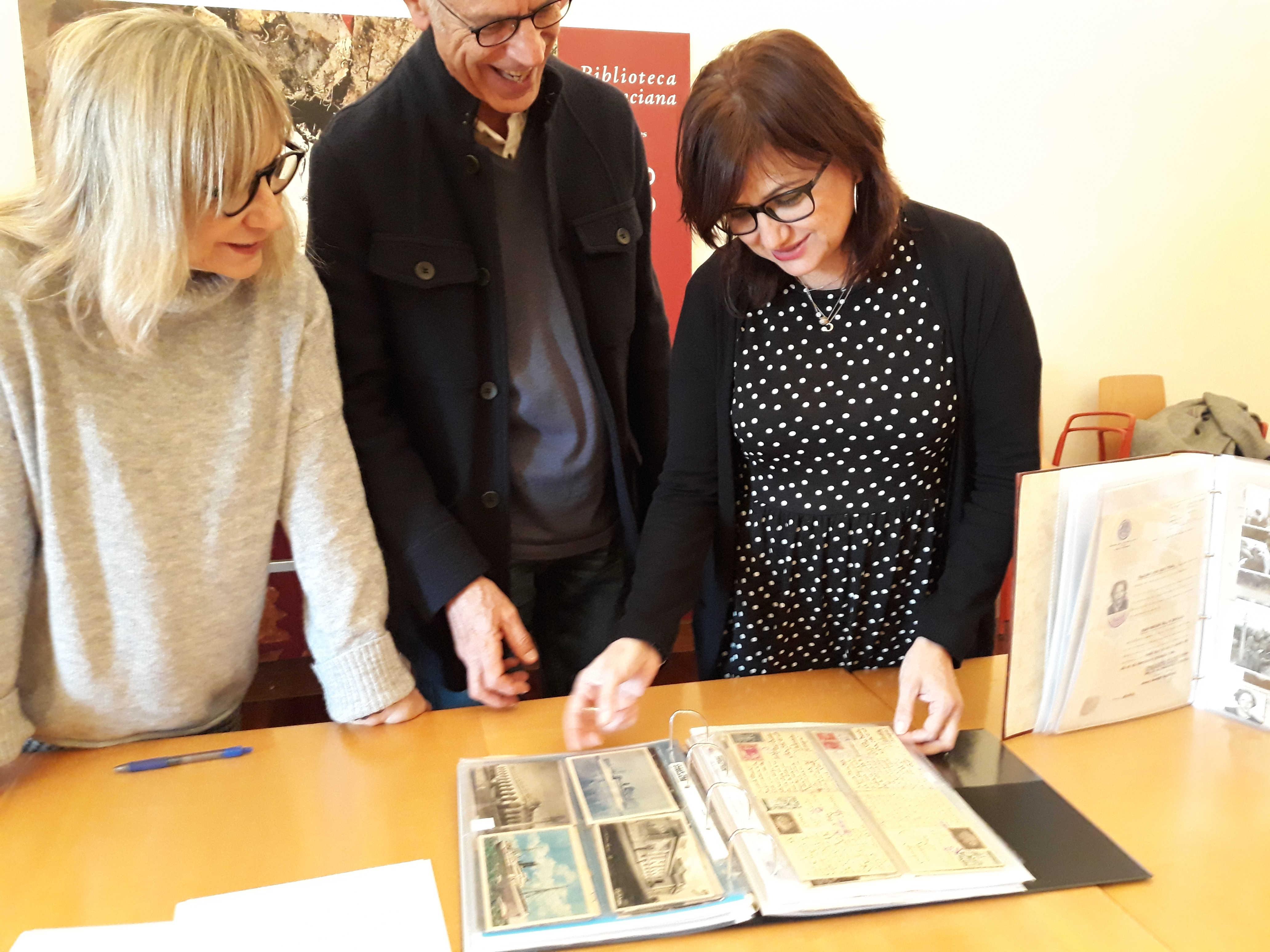 La Biblioteca Valenciana recibe el archivo de Francesc Bosch i Morata y Pilar Trenzano