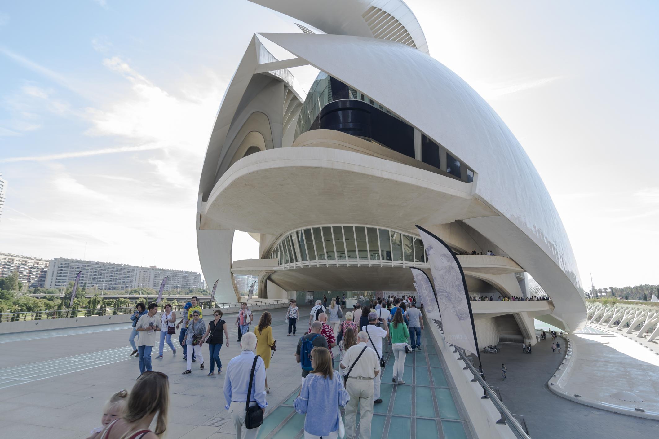 Les Arts ofrece un abono para su ciclo sinfónico por 60 euros para el alumnado universitario y de conservatorio