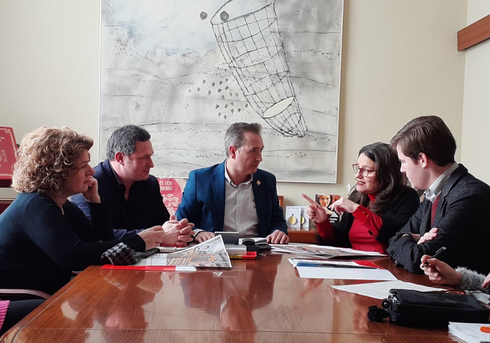 """Oltra: """"Igualtat multiplica per cinc la inversió per a l""""equip base de l""""Ajuntament de Xirivella"""""""