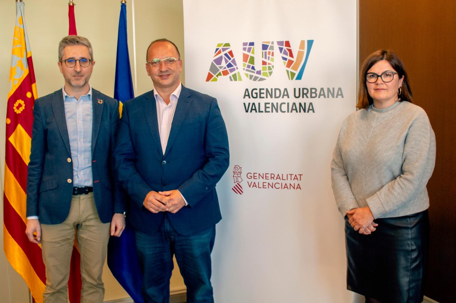 """Arcadi España reivindica el dret a la ciutat com a prioritat de l""""Agenda Urbana Valenciana"""