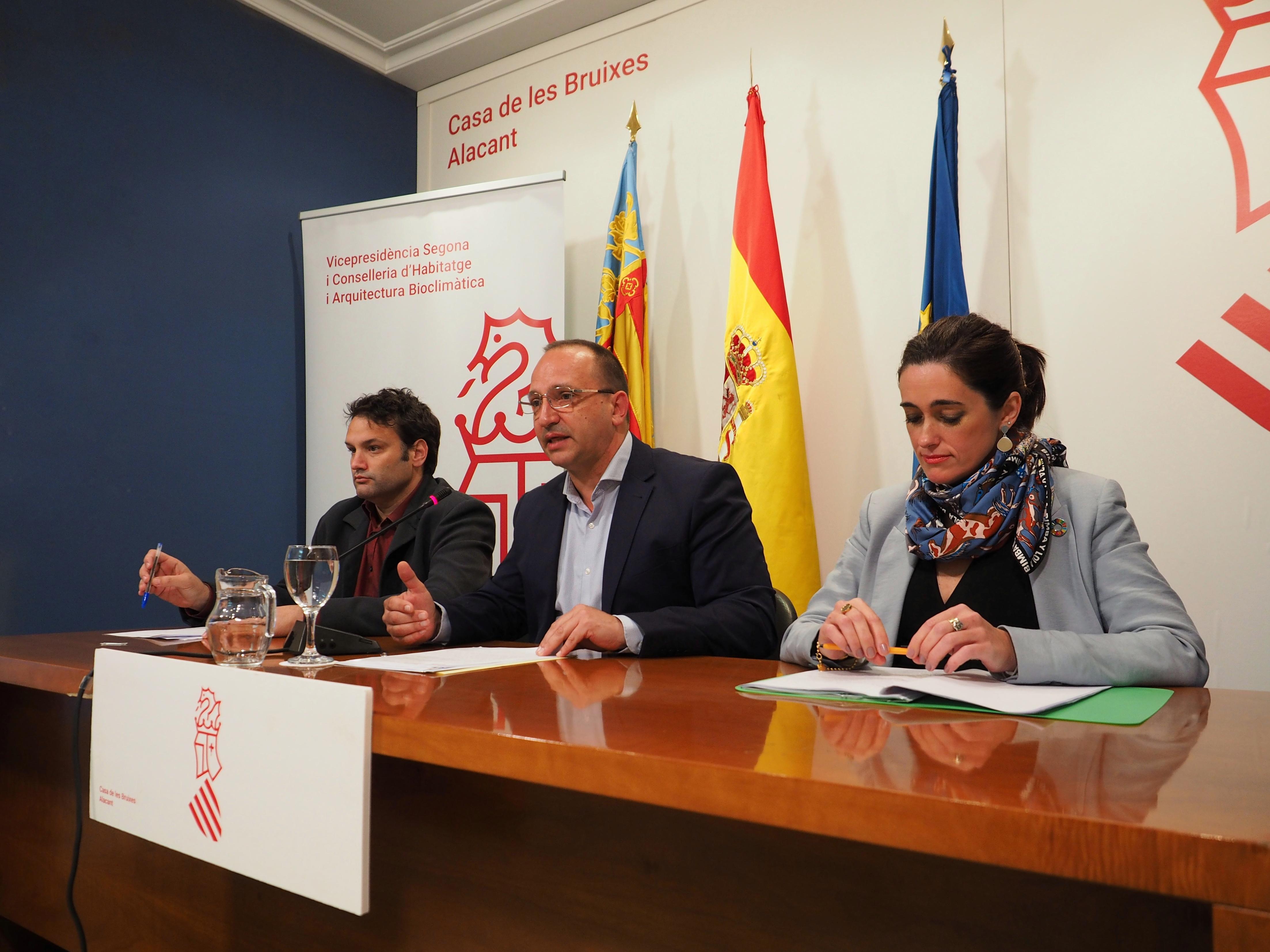 """Martínez Dalmau: """"Aquest Consell va nàixer mirant el sud i així s""""ha plasmat en la Llei de pressupostos del 2020 per a Alacant"""""""