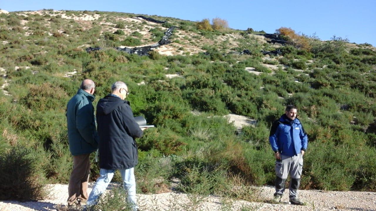 Transición Ecológica ultima las obras de sellado del antiguo vertedero el Búho de Elche
