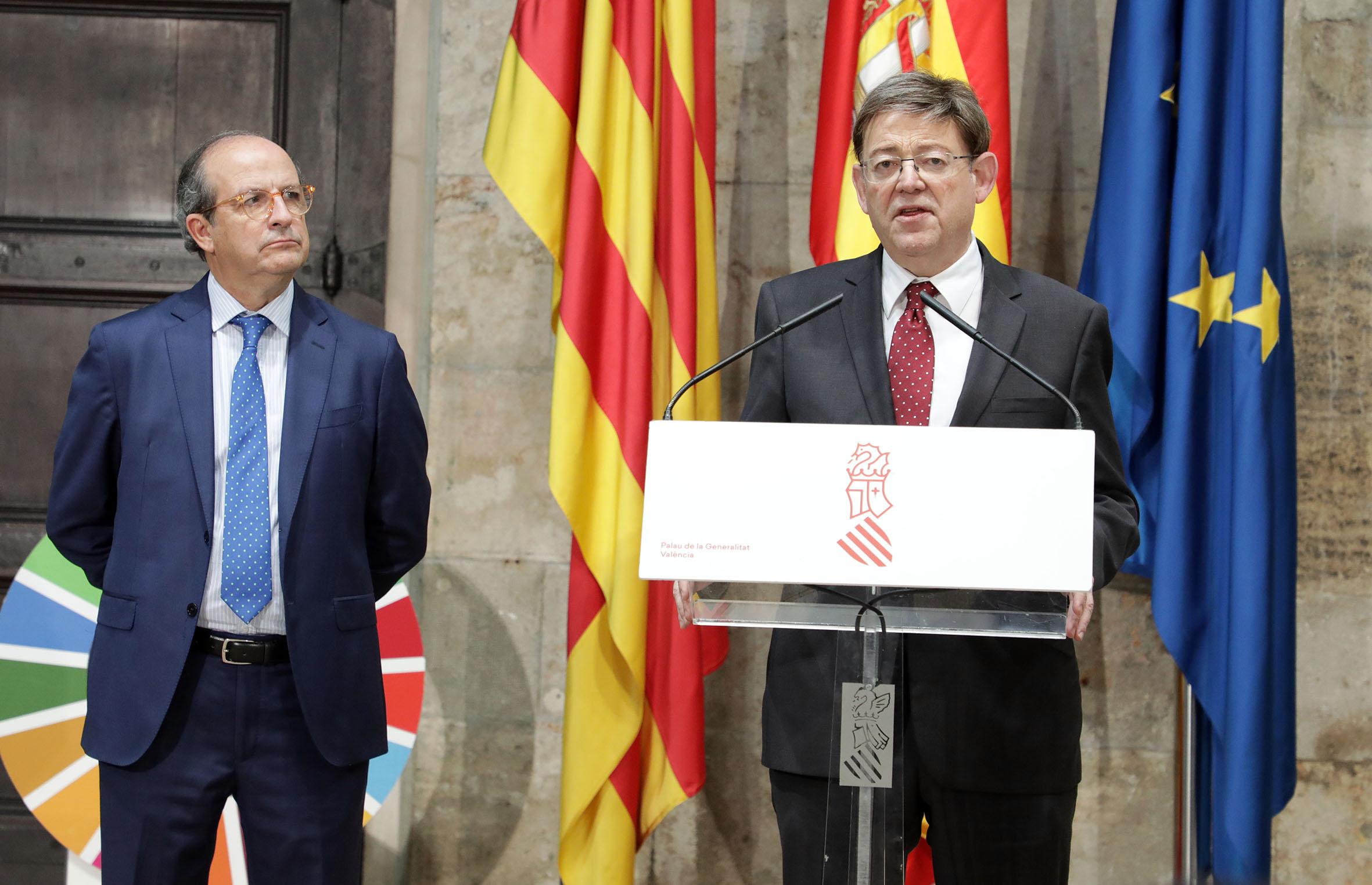 Ximo Puig anuncia que el Pativel y el Patricova serán revisados con el fin de adaptarlos a la situación de emergencia climática