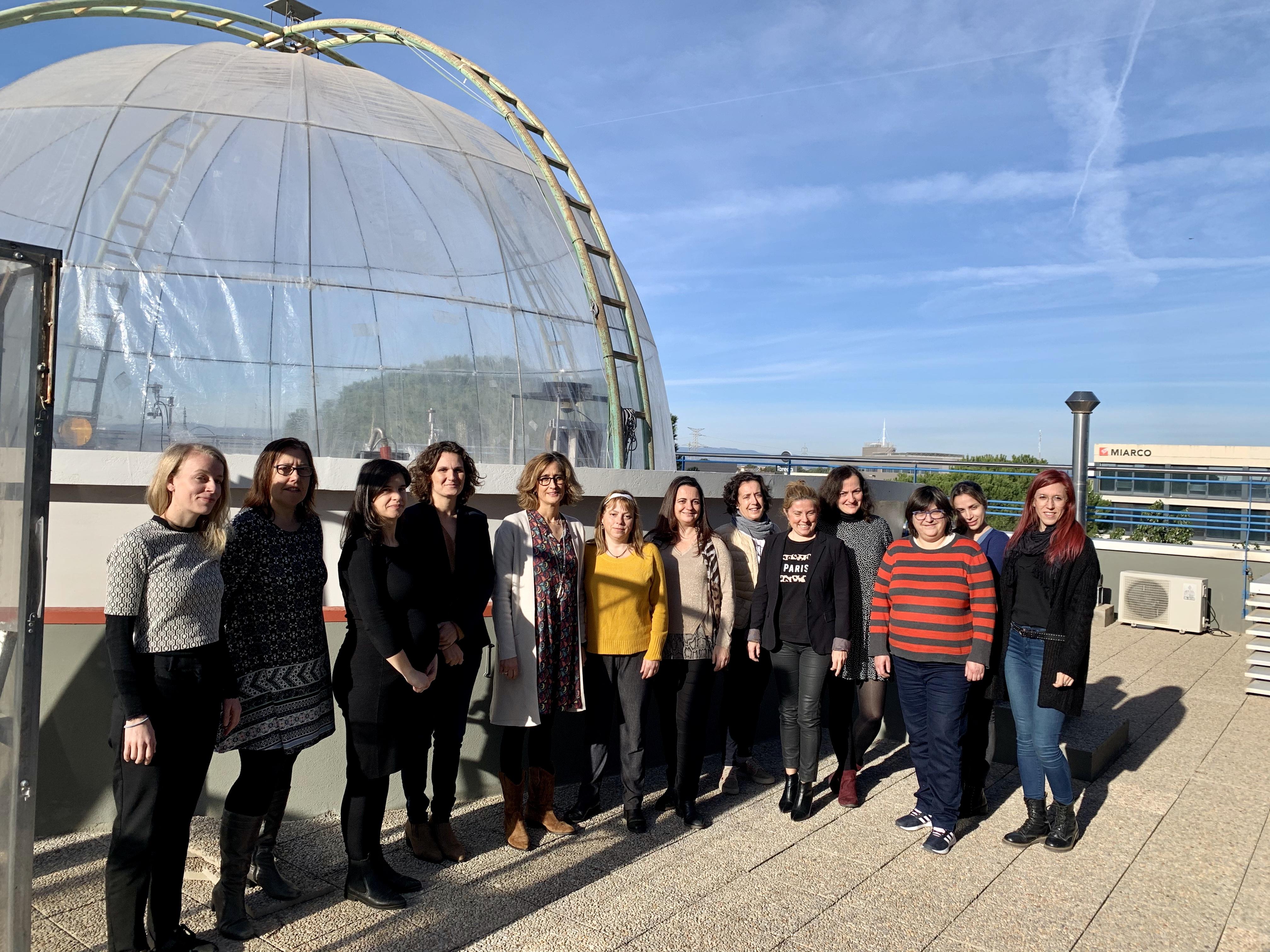Paula Tuzón reconeix a les investigadores del CEAM per a liderar projectes de lluita contra el canvi climàtic